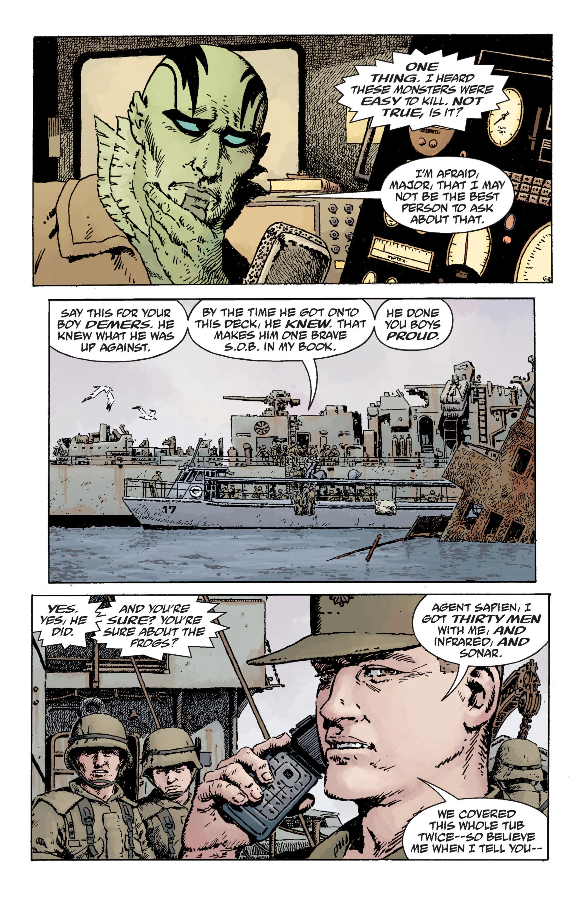 Read online B.P.R.D. (2003) comic -  Issue # TPB 12 - 81