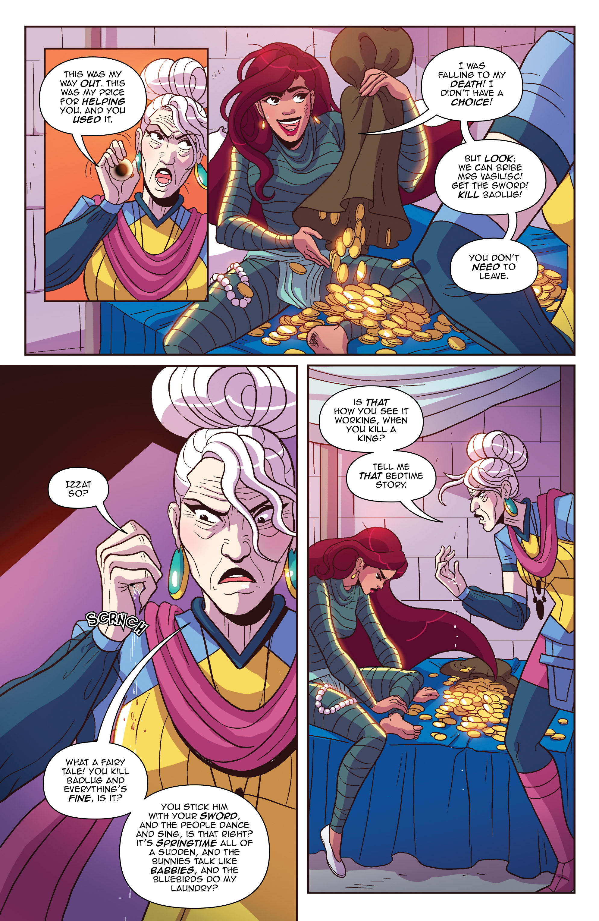Read online Another Castle comic -  Issue #3 - 6