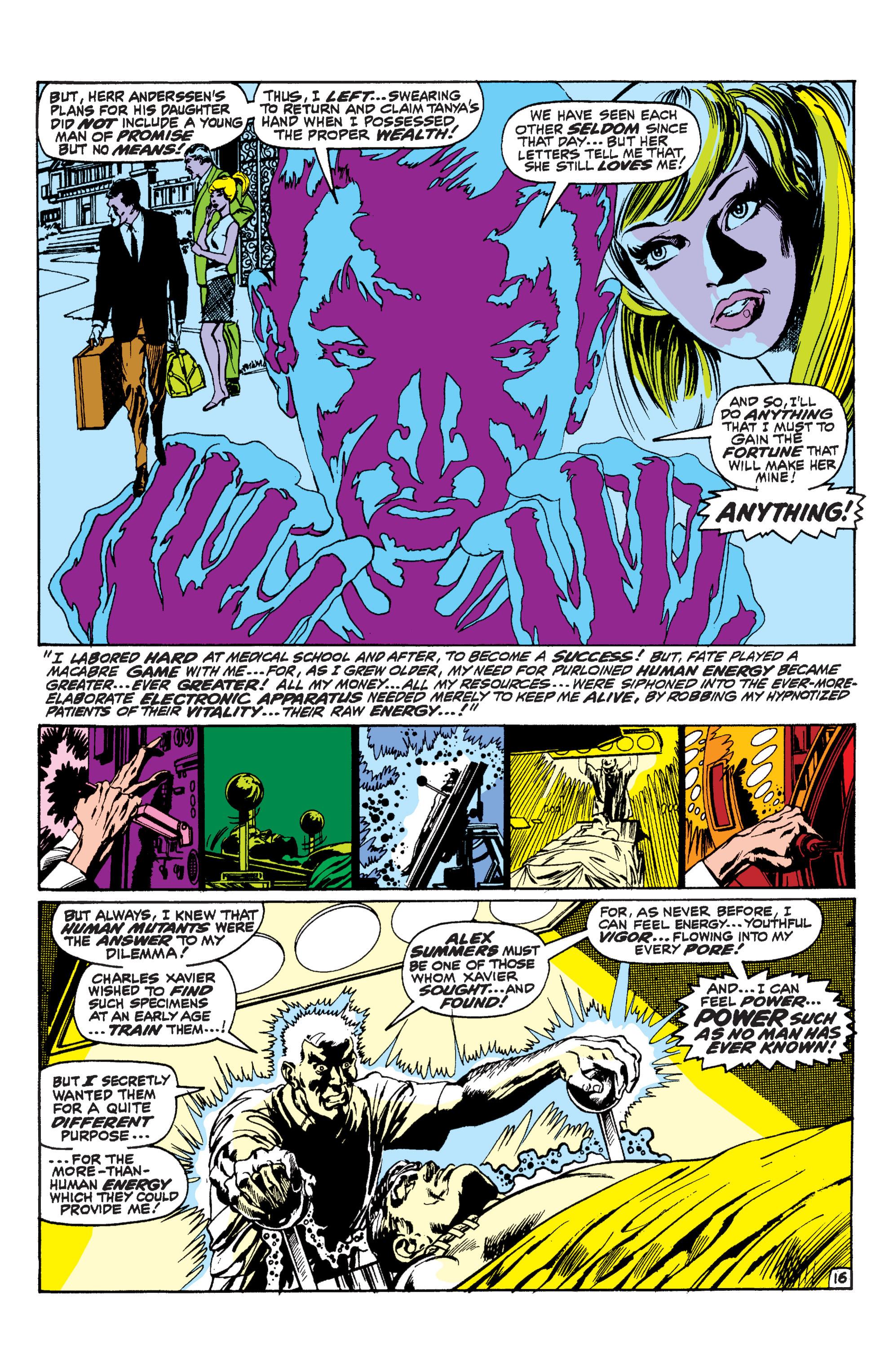Read online Uncanny X-Men (1963) comic -  Issue #60 - 15