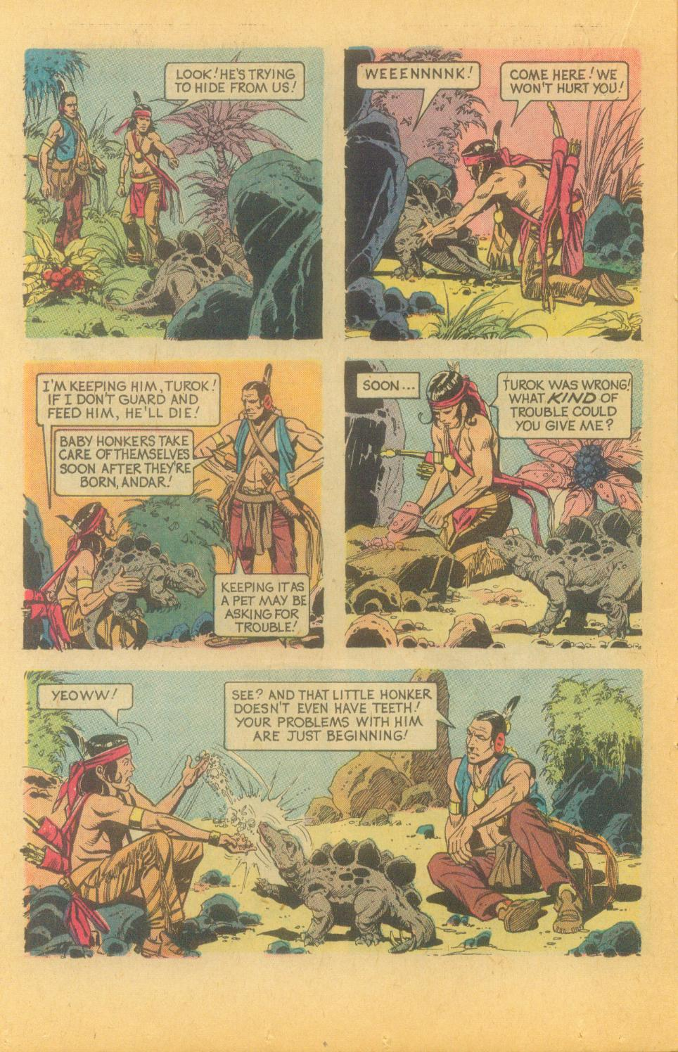 Read online Turok, Son of Stone comic -  Issue #89 - 22