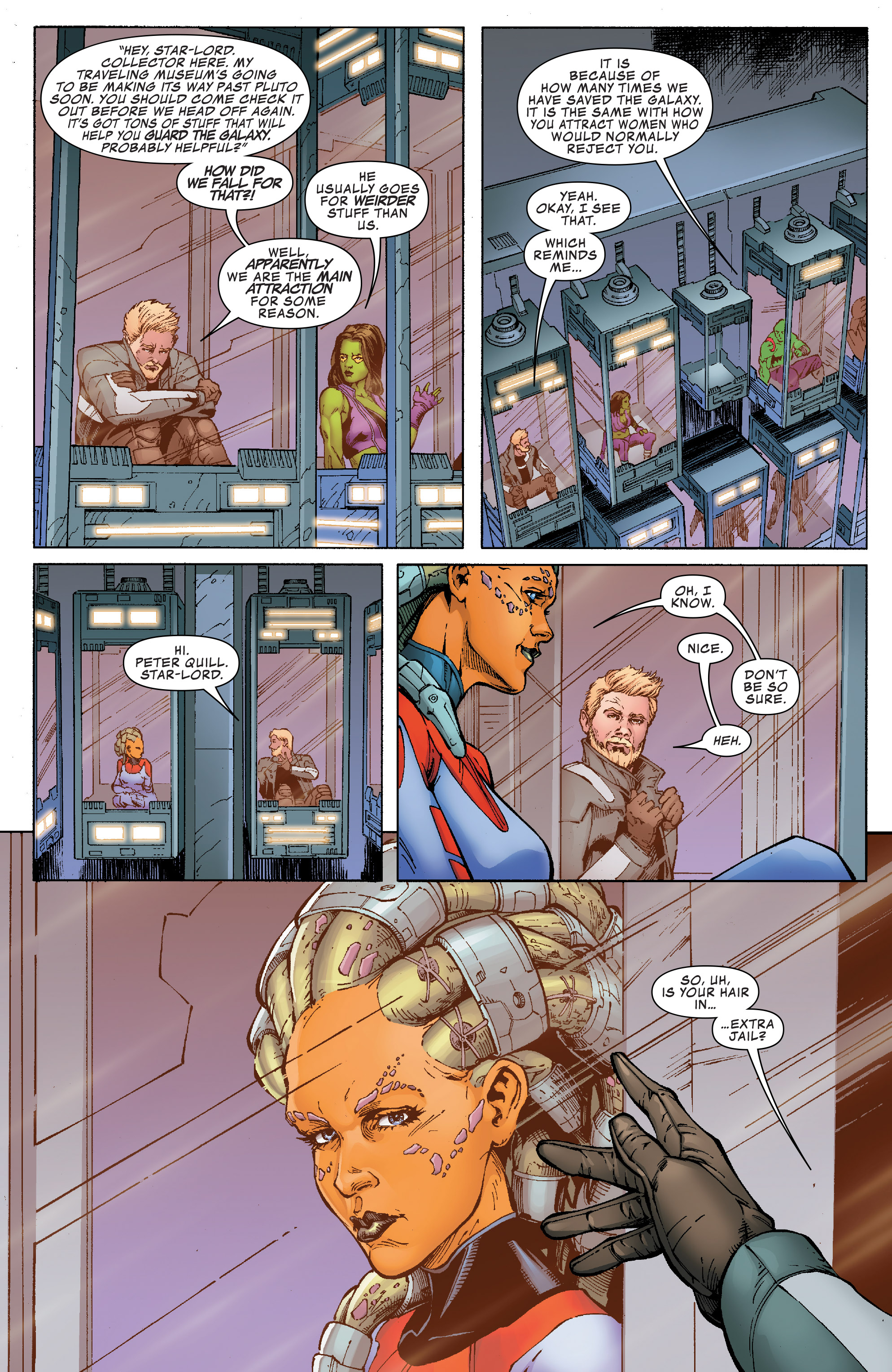 Read online Guardians of the Galaxy: Mission Breakout comic -  Issue # Full - 12