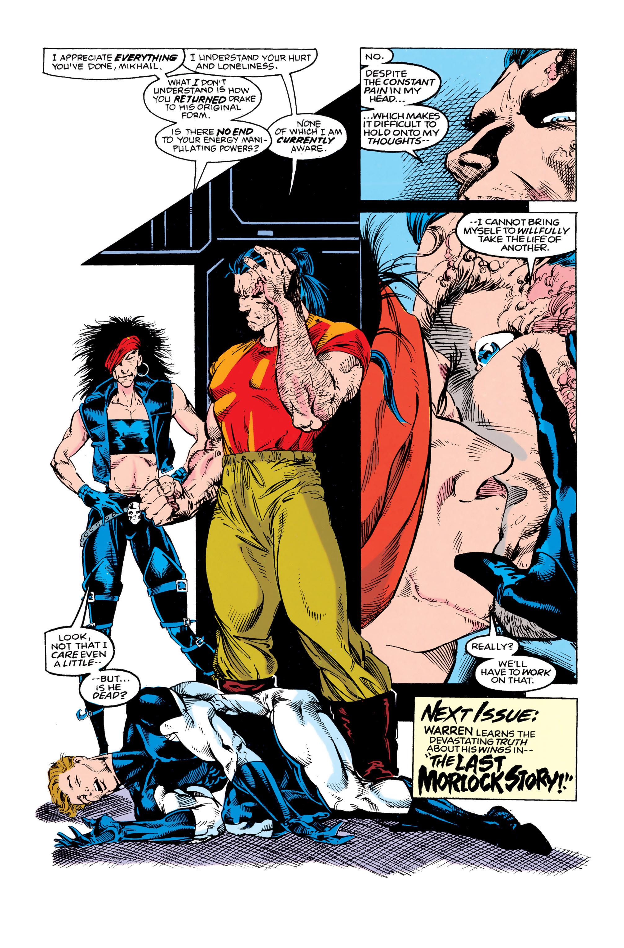 Read online Uncanny X-Men (1963) comic -  Issue #292 - 22