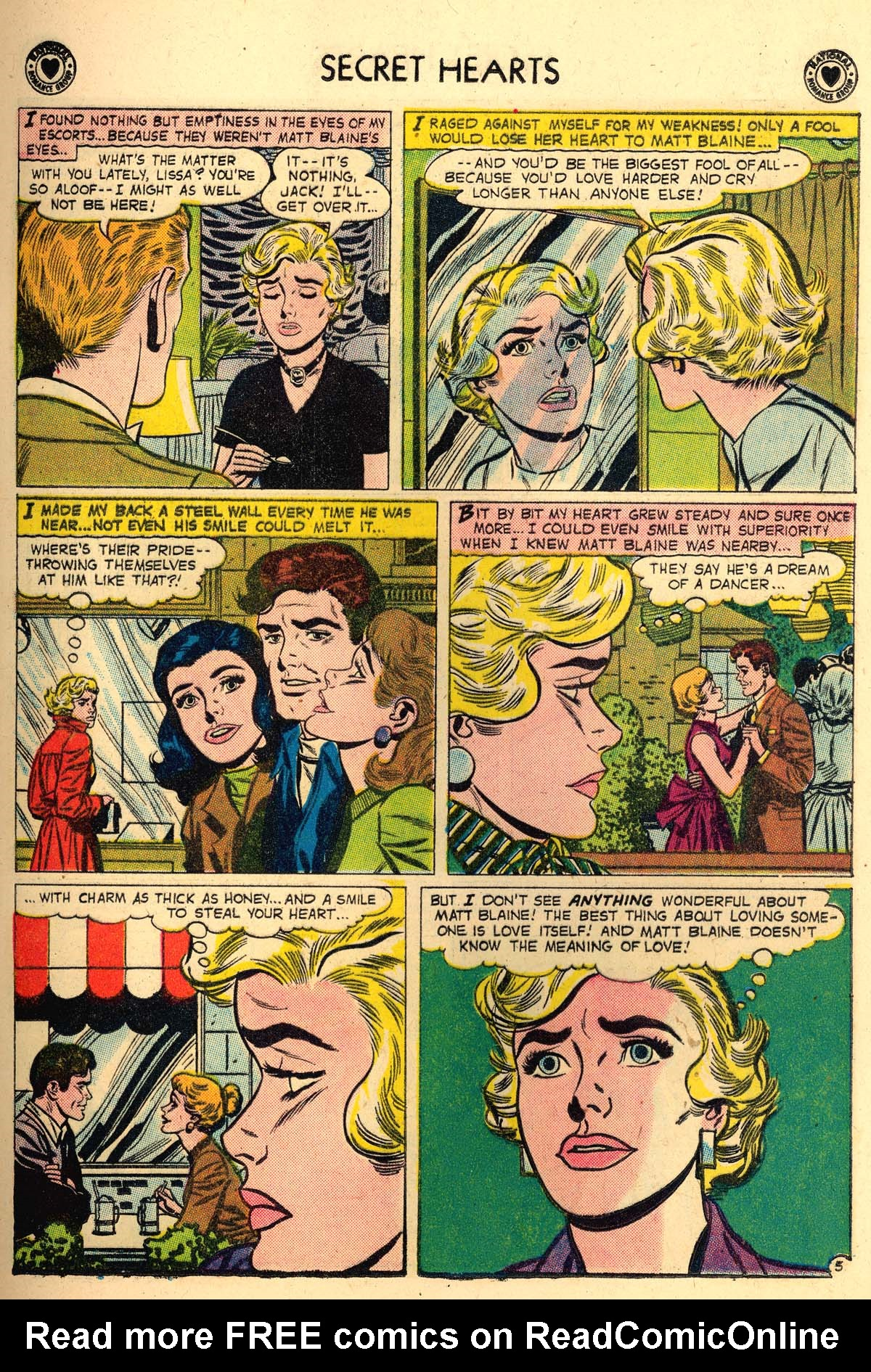 Read online Secret Hearts comic -  Issue #56 - 13