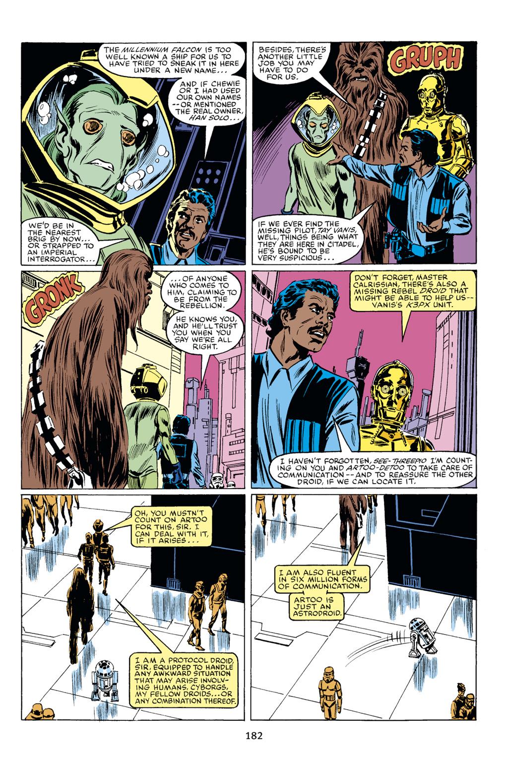 Read online Star Wars Omnibus comic -  Issue # Vol. 18 - 170
