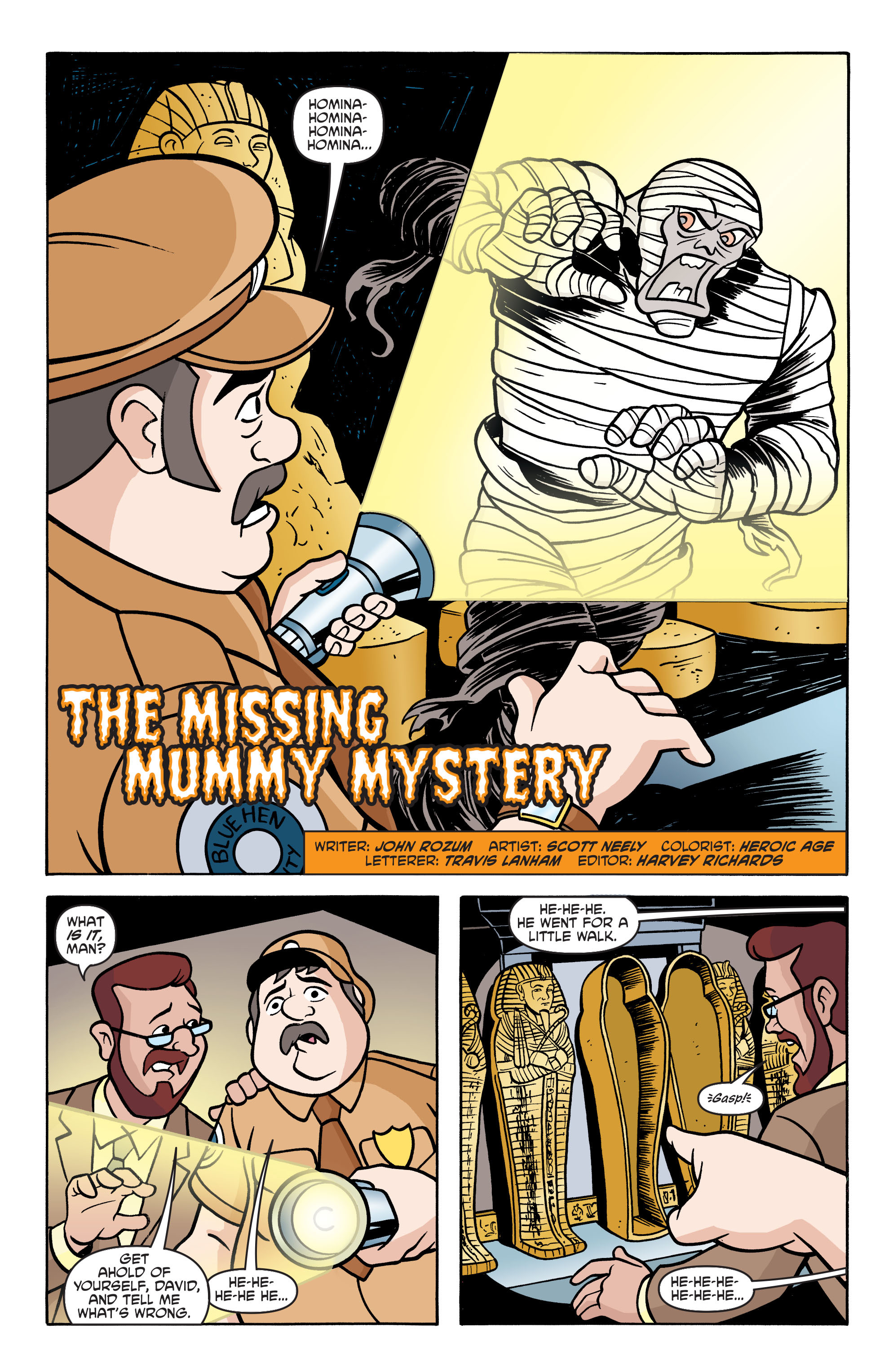 Read online Scooby-Doo: Where Are You? comic -  Issue #62 - 13