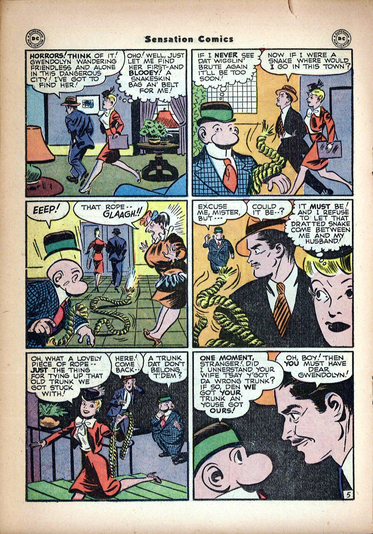 Read online Sensation (Mystery) Comics comic -  Issue #62 - 28
