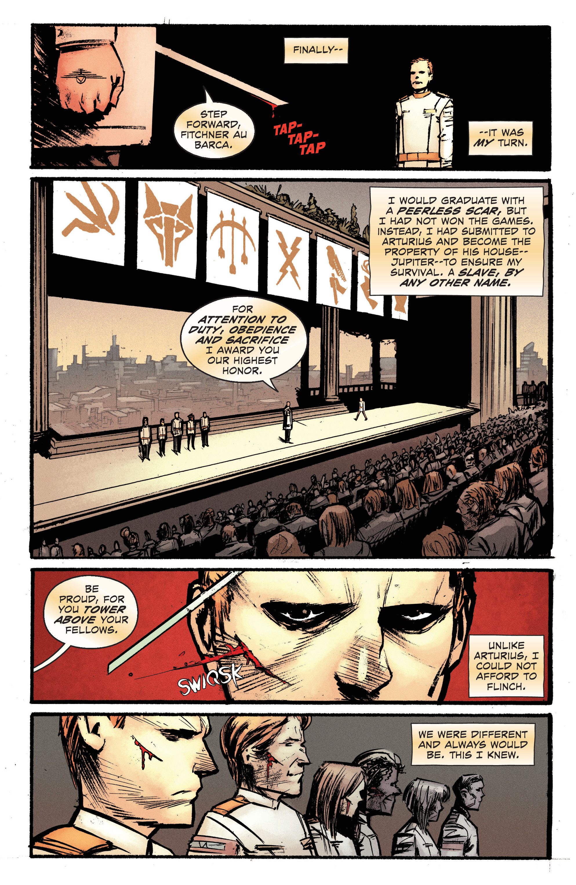 Read online Pierce Brown's Red Rising: Son Of Ares comic -  Issue #2 - 16