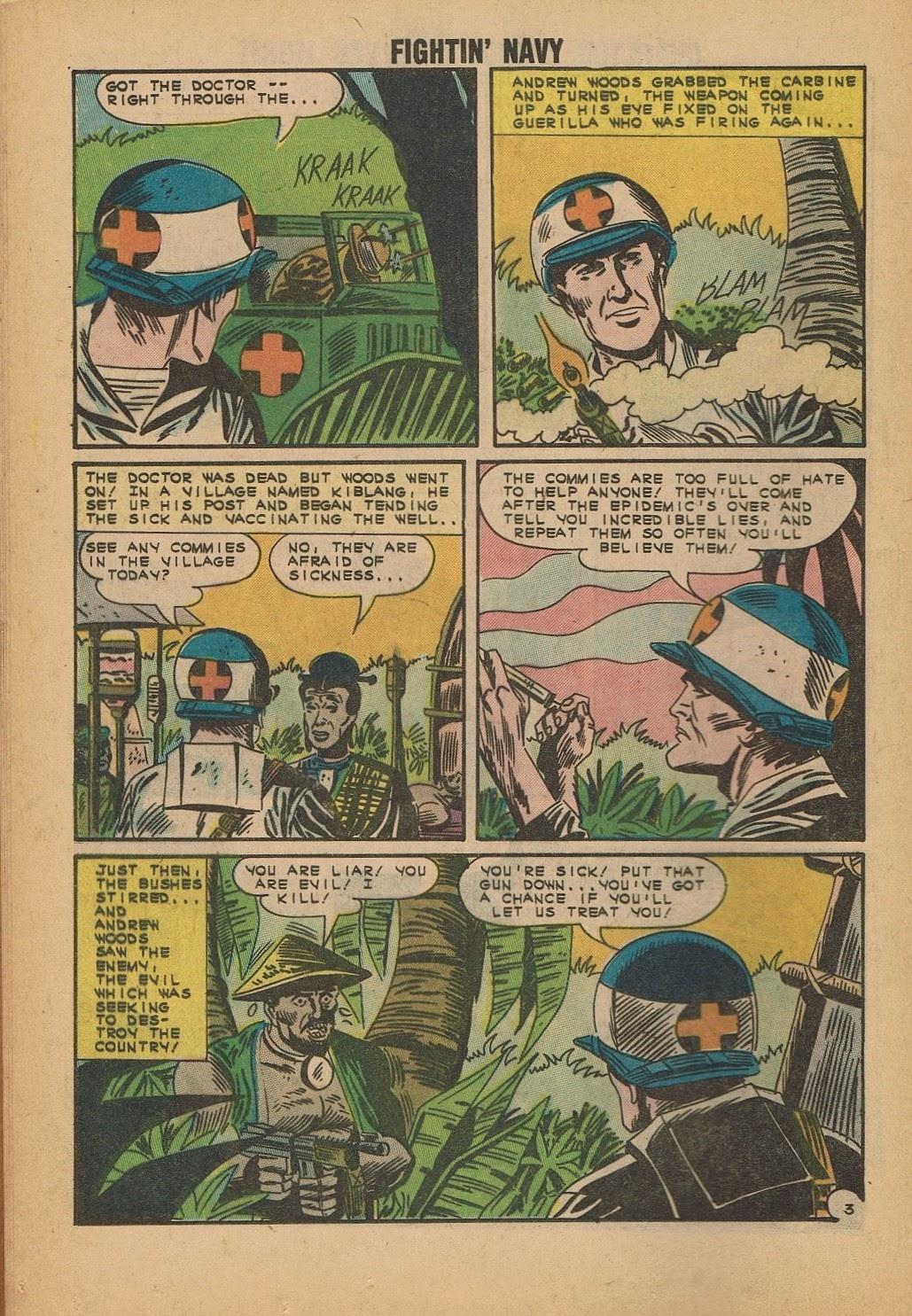 Read online Fightin' Navy comic -  Issue #112 - 12