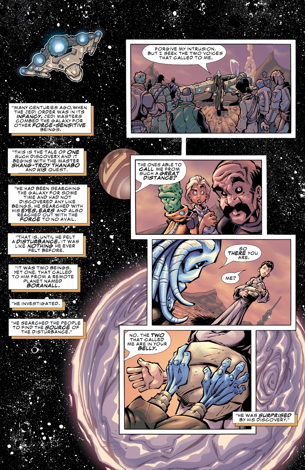 Read online Star Wars Legends: Rise of the Sith - Epic Collection comic -  Issue # TPB 1 (Part 3) - 1