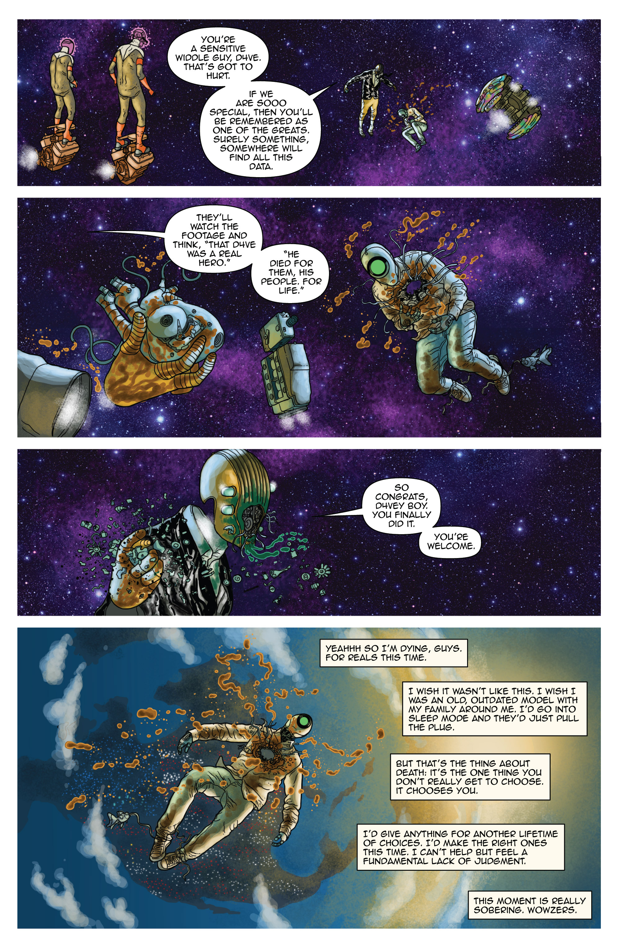 Read online D4VEocracy comic -  Issue #4 - 17