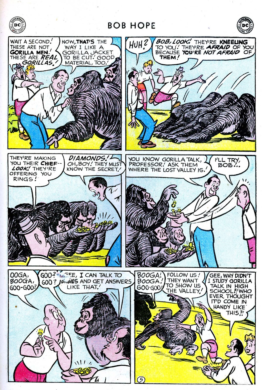 The Adventures of Bob Hope issue 33 - Page 31