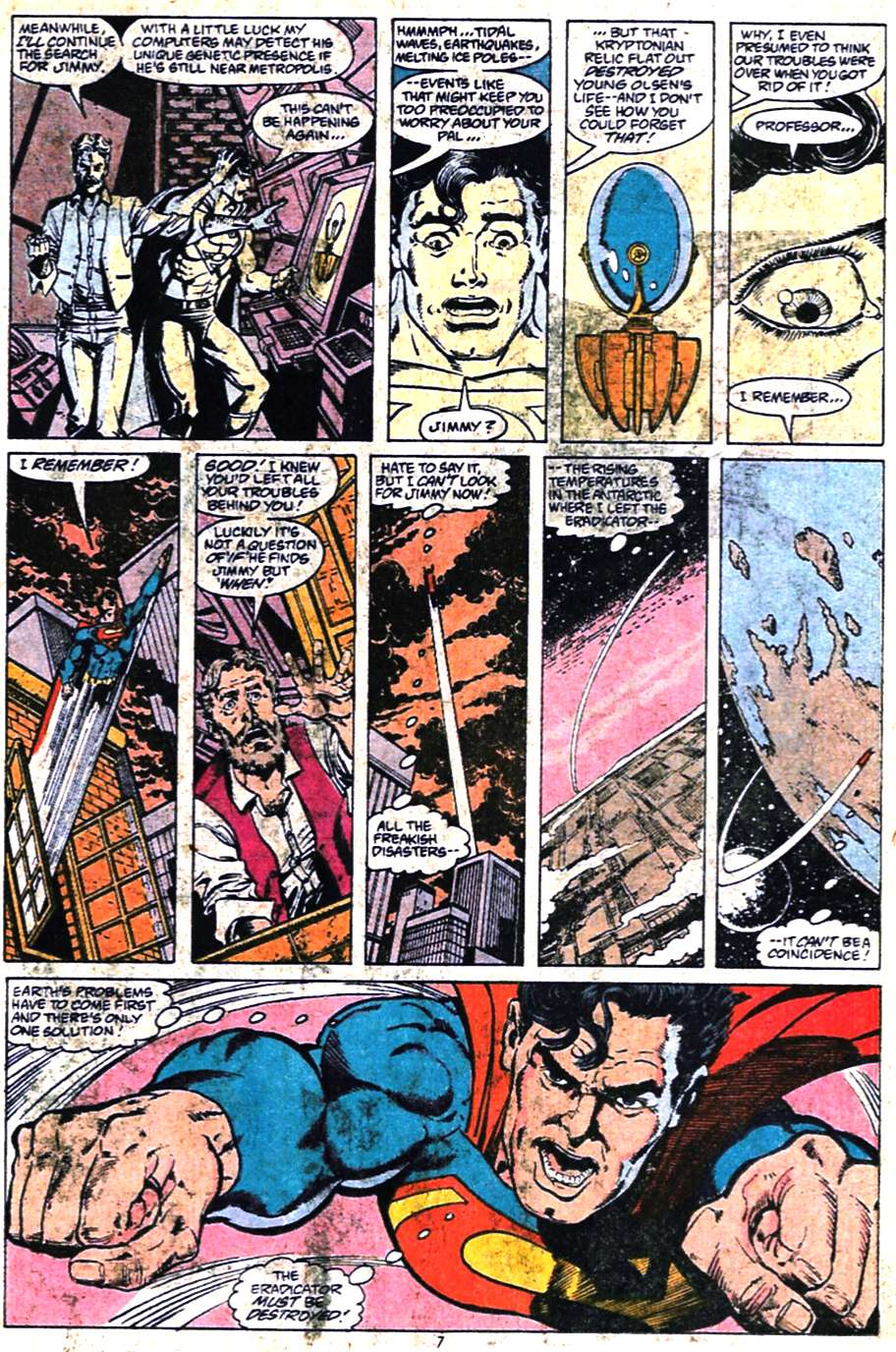 Read online Adventures of Superman (1987) comic -  Issue #461 - 8