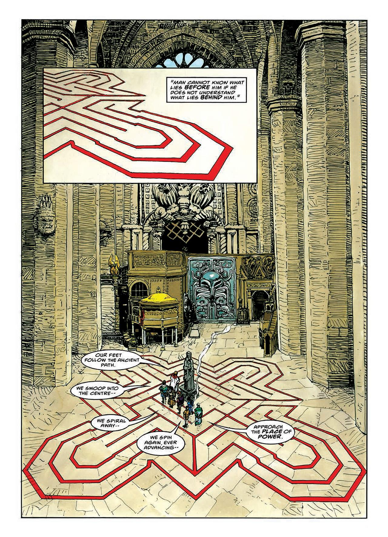 Read online Mazeworld comic -  Issue # TPB - 68