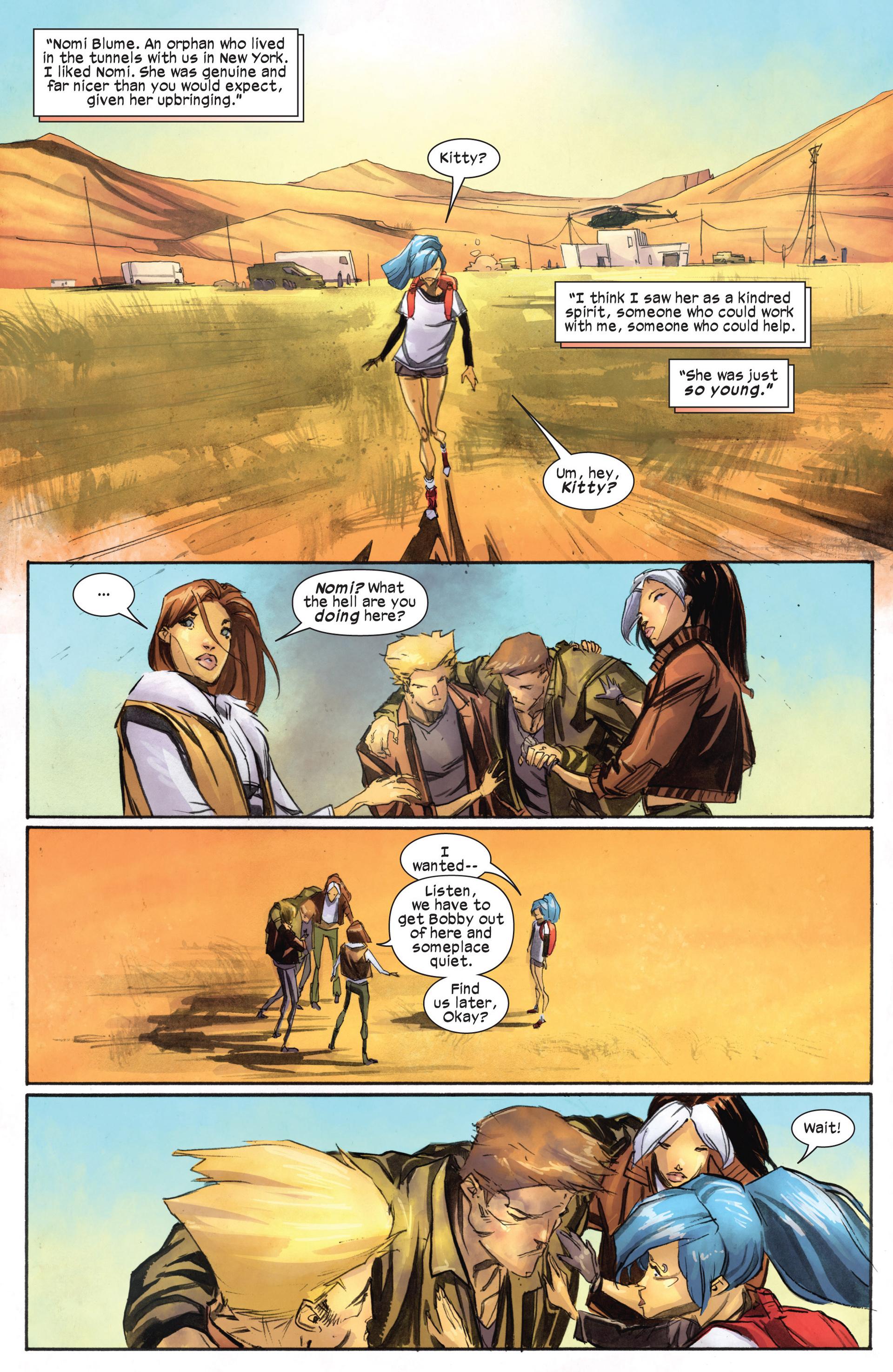 Read online Ultimate Comics X-Men comic -  Issue #18.1 - 12