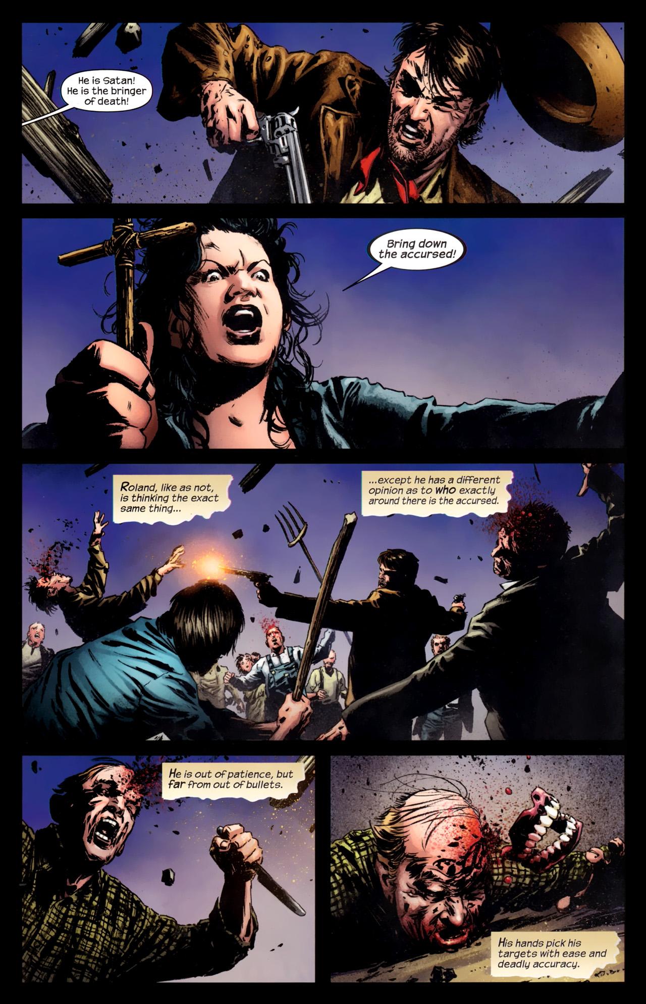 Read online Dark Tower: The Gunslinger - The Battle of Tull comic -  Issue #5 - 7
