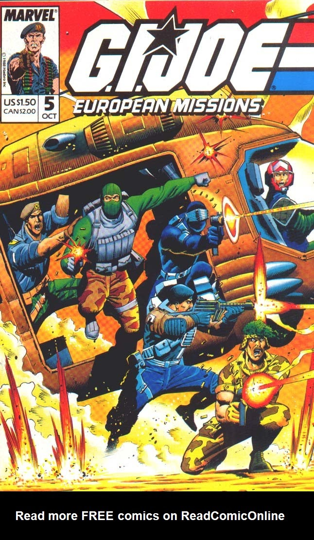 G.I. Joe European Missions issue 5 - Page 1