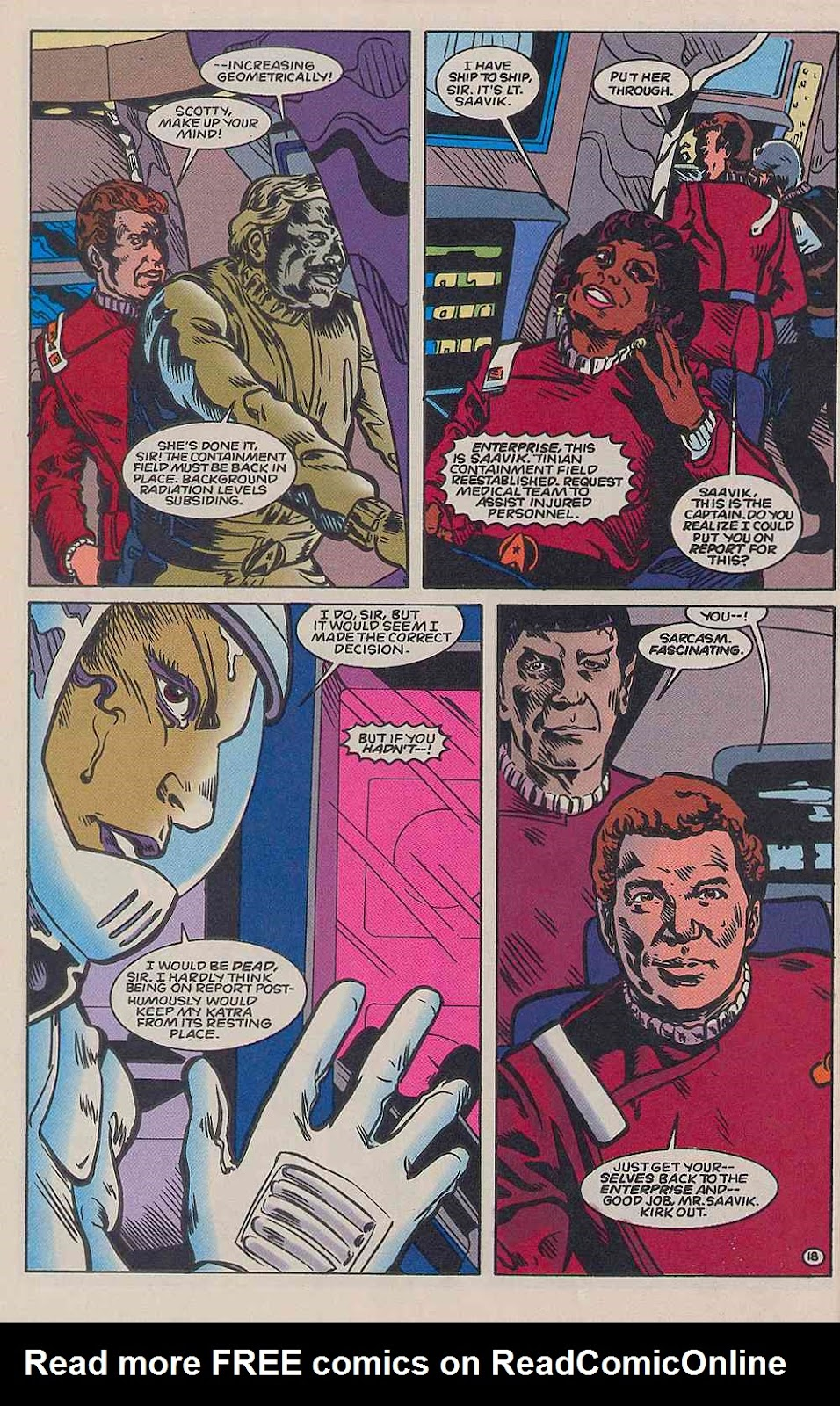 Read online Star Trek (1989) comic -  Issue # _Special 2 - 50