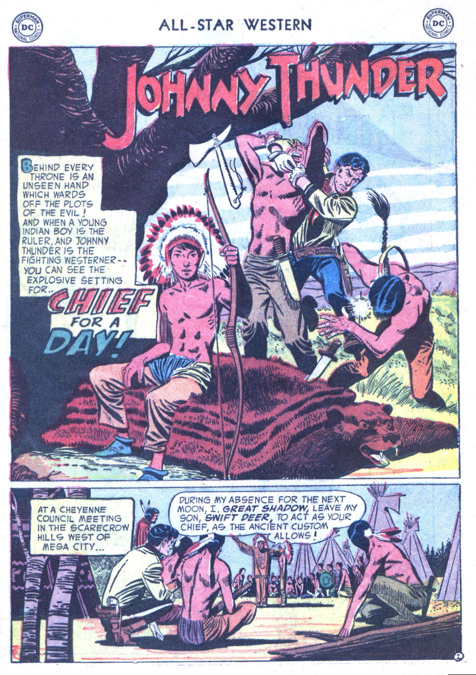 Read online All-Star Western (1951) comic -  Issue #77 - 28