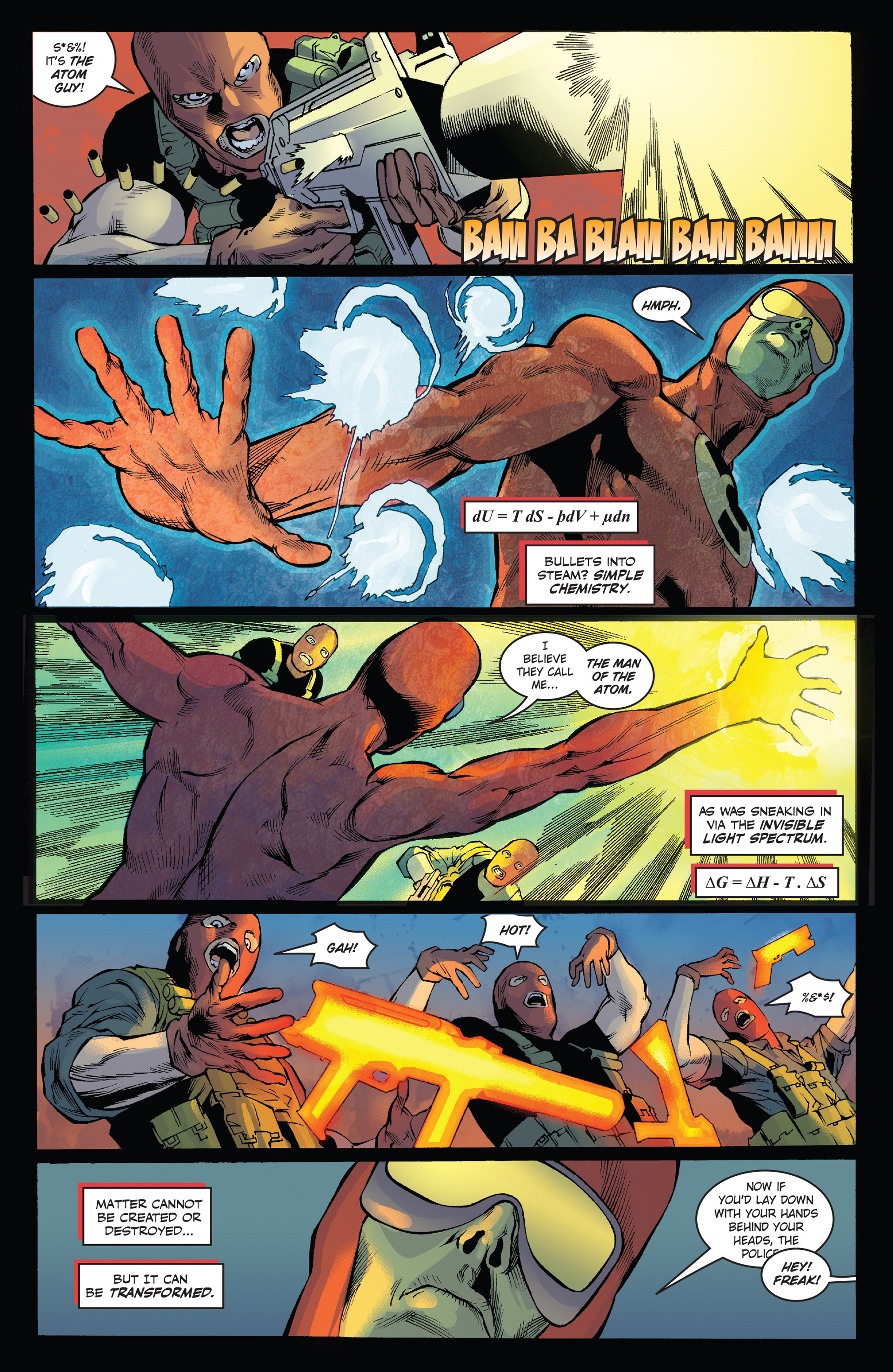 Read online Solar: Man of the Atom (2014) comic -  Issue #1 - 8