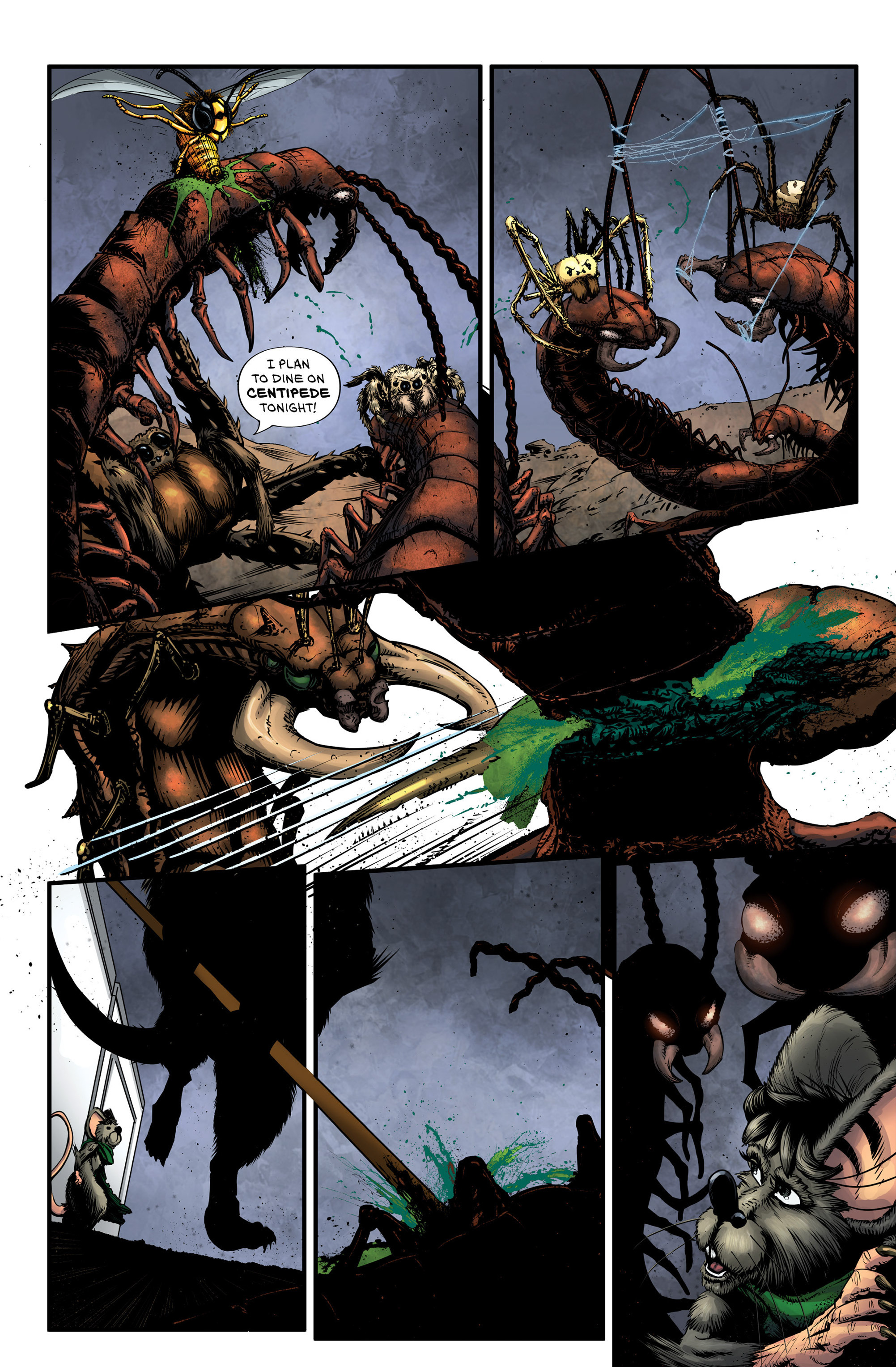 Read online Wretched Things comic -  Issue #3 - 5