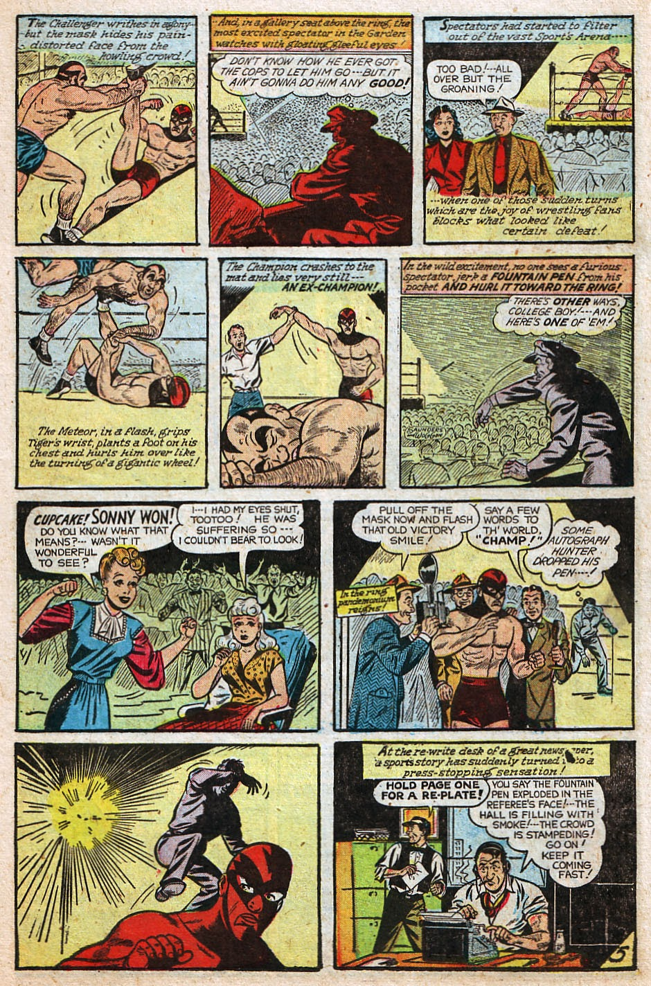 Read online Famous Funnies comic -  Issue #192 - 19