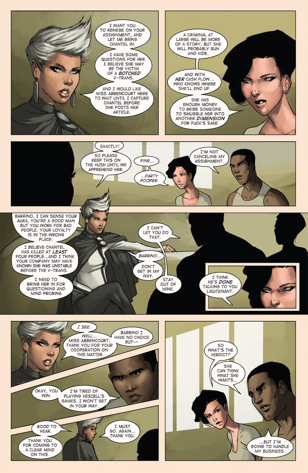 Read online Vescell comic -  Issue #4 - 26