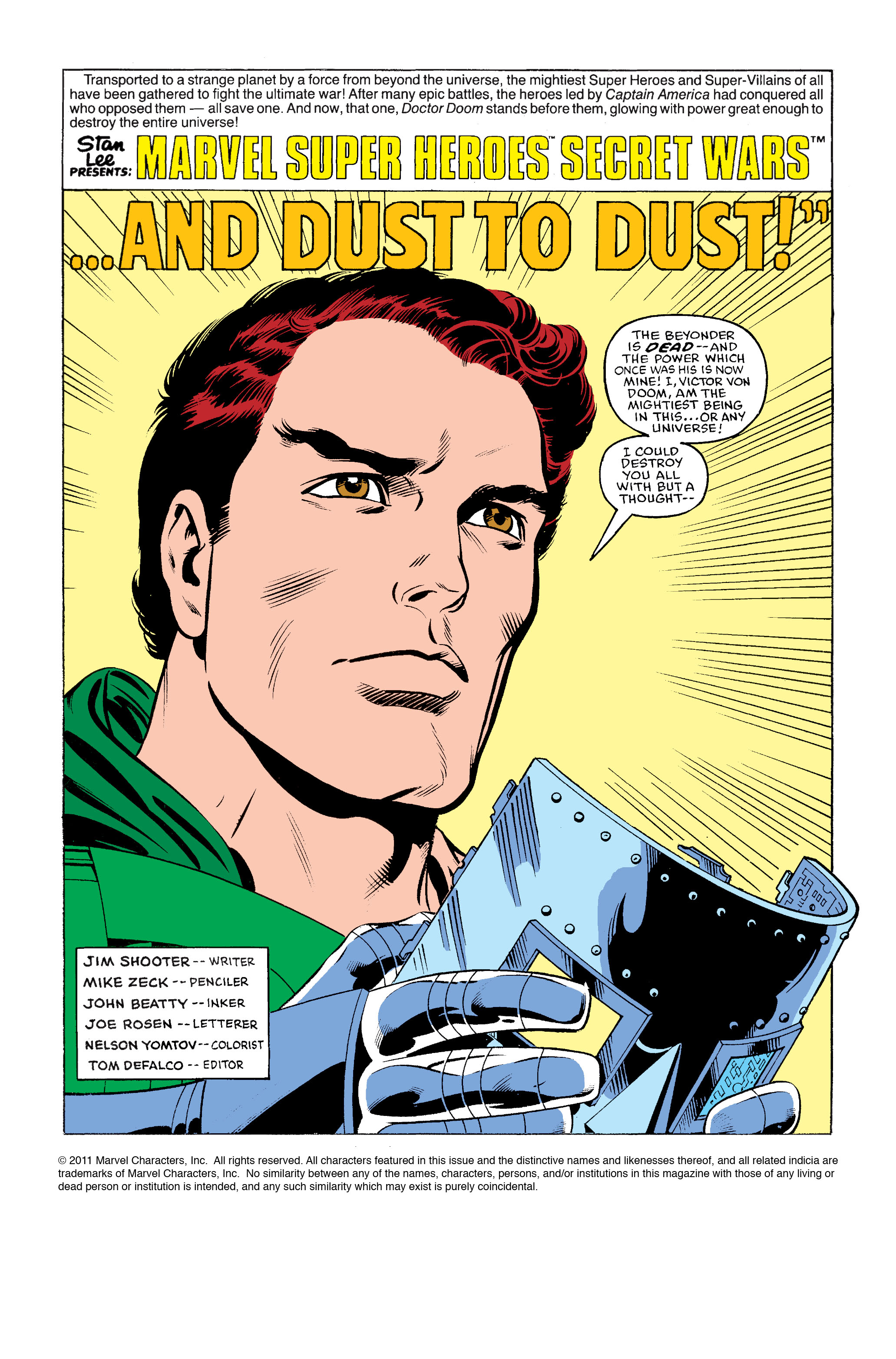 Read online Secret Wars Prelude comic -  Issue # Full - 31