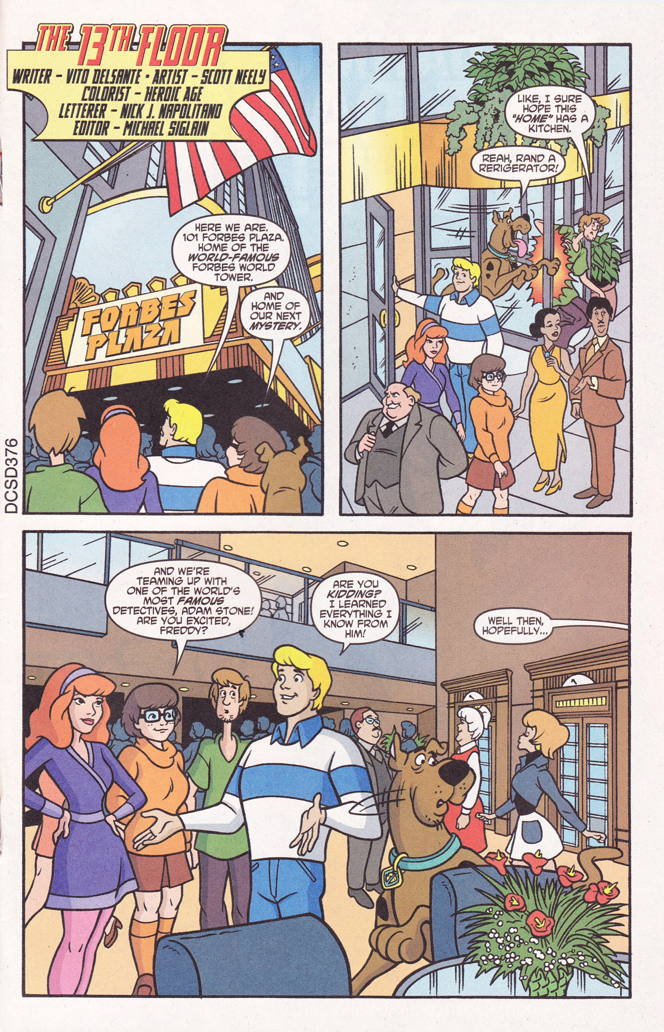 Read online Scooby-Doo (1997) comic -  Issue #110 - 23