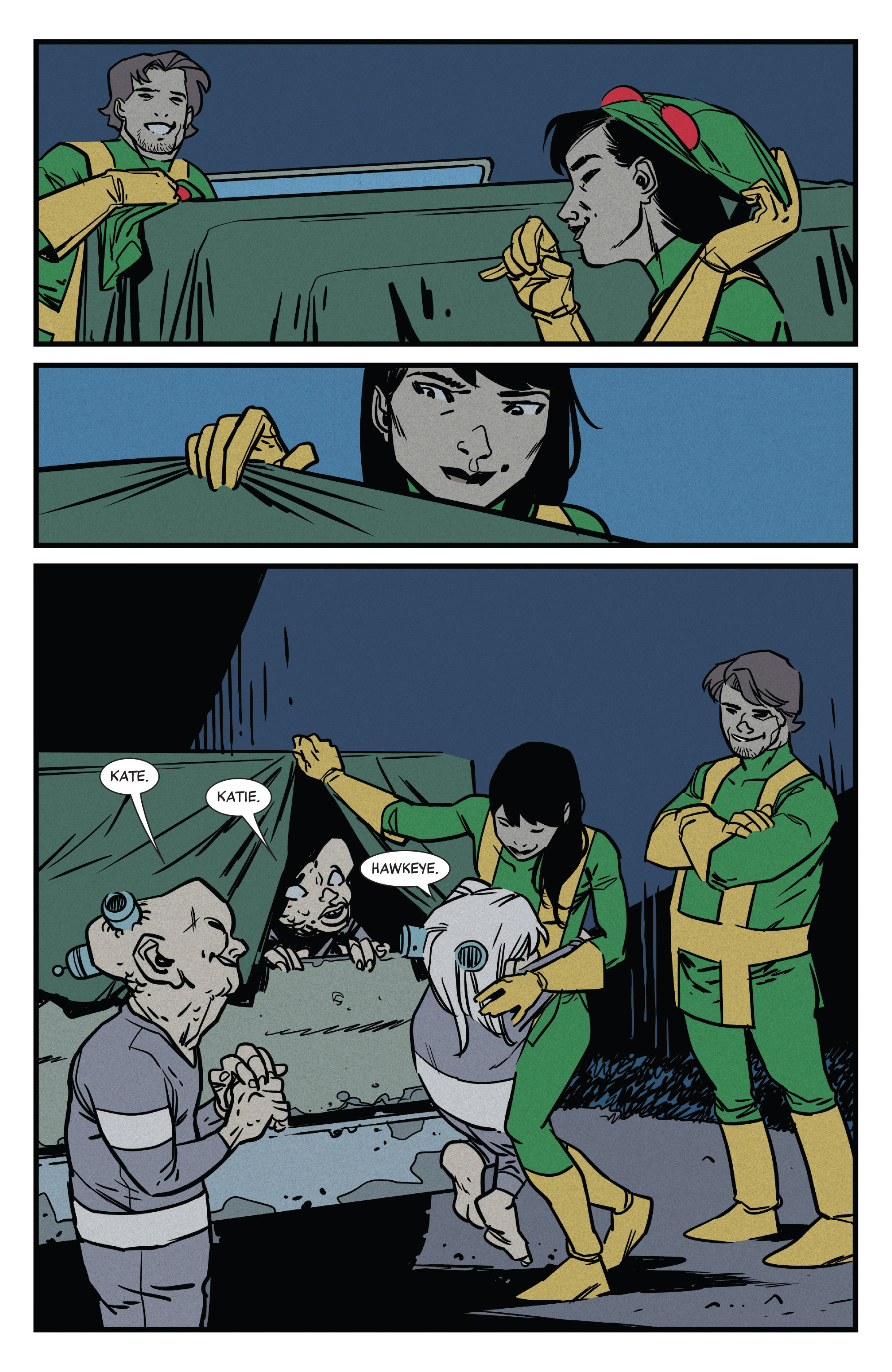 Read online All-New Hawkeye (2016) comic -  Issue #5 - 19