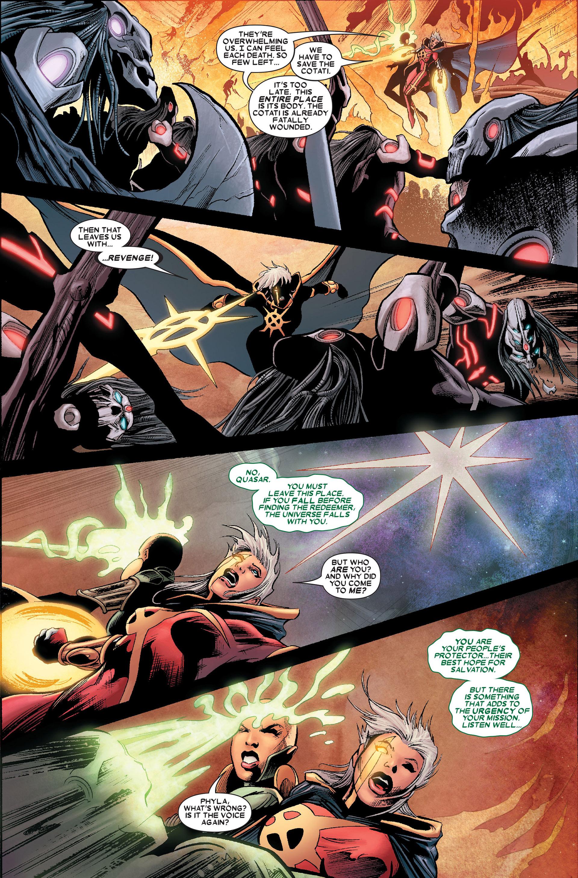 Read online Annihilation: Conquest - Quasar comic -  Issue #1 - 20