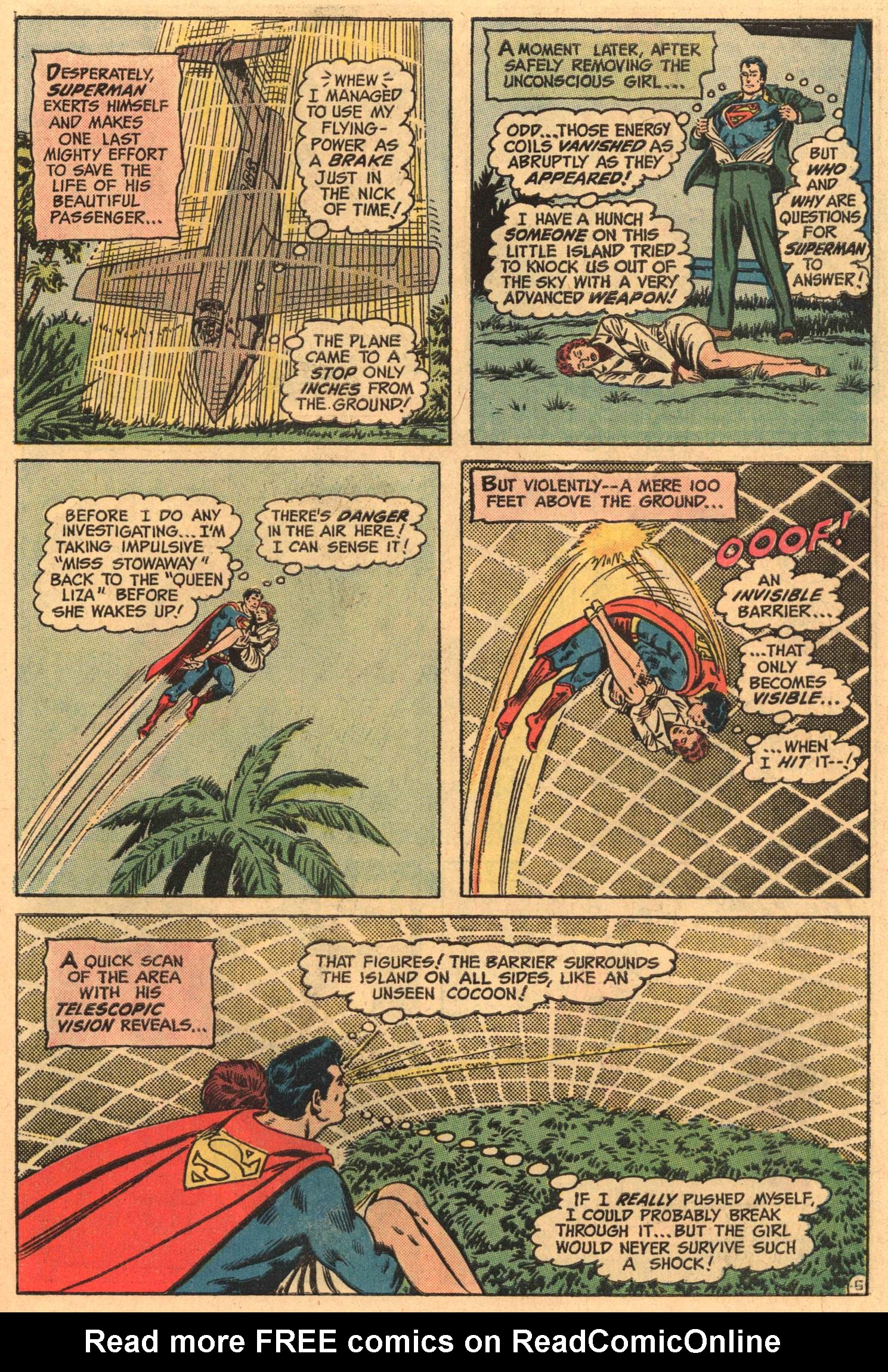 Read online Action Comics (1938) comic -  Issue #416 - 7
