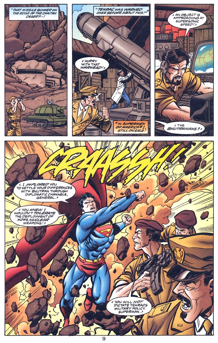 Read online Adventures of Superman (1987) comic -  Issue #566 - 10