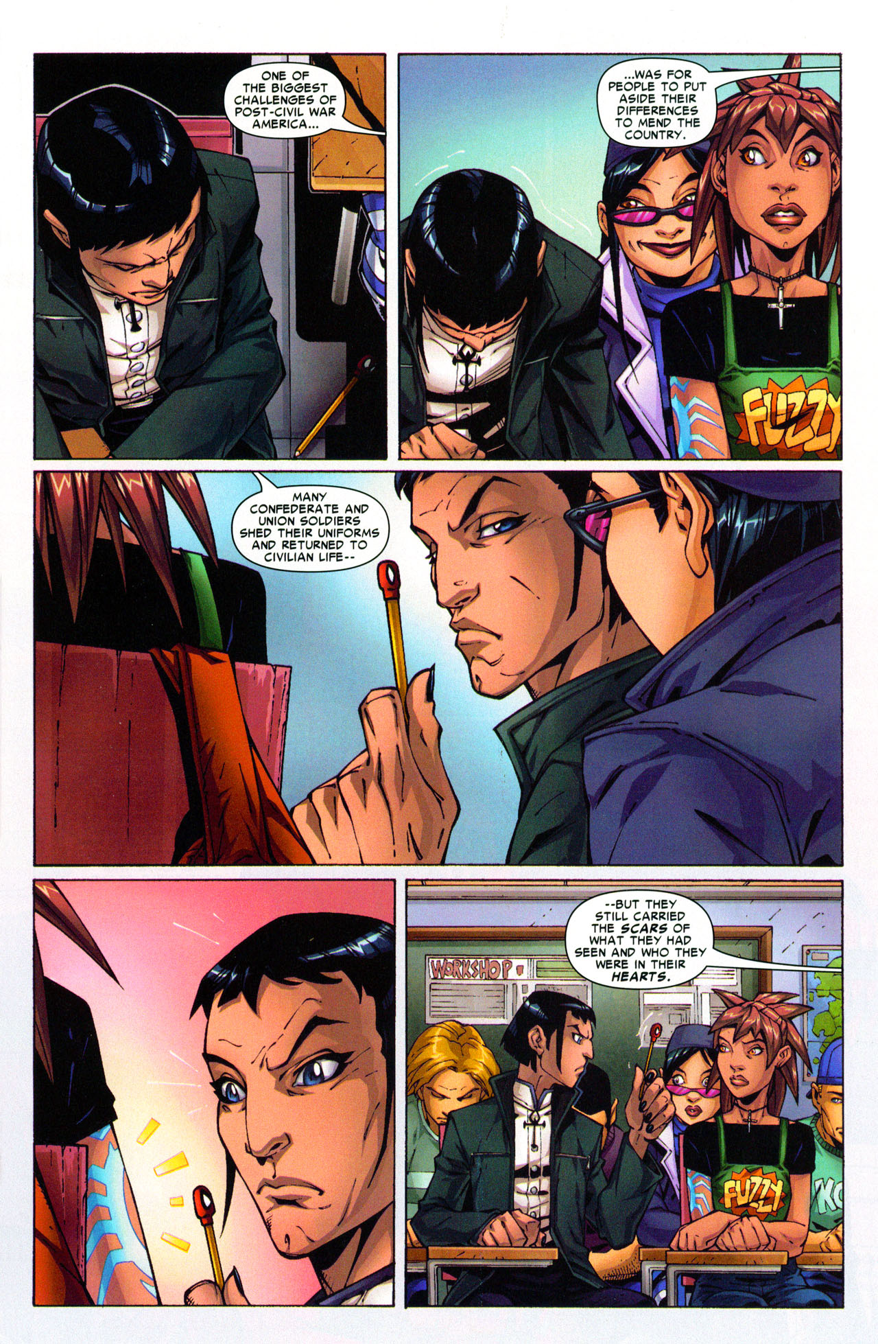 Read online Araña: Heart of the Spider comic -  Issue #3 - 4