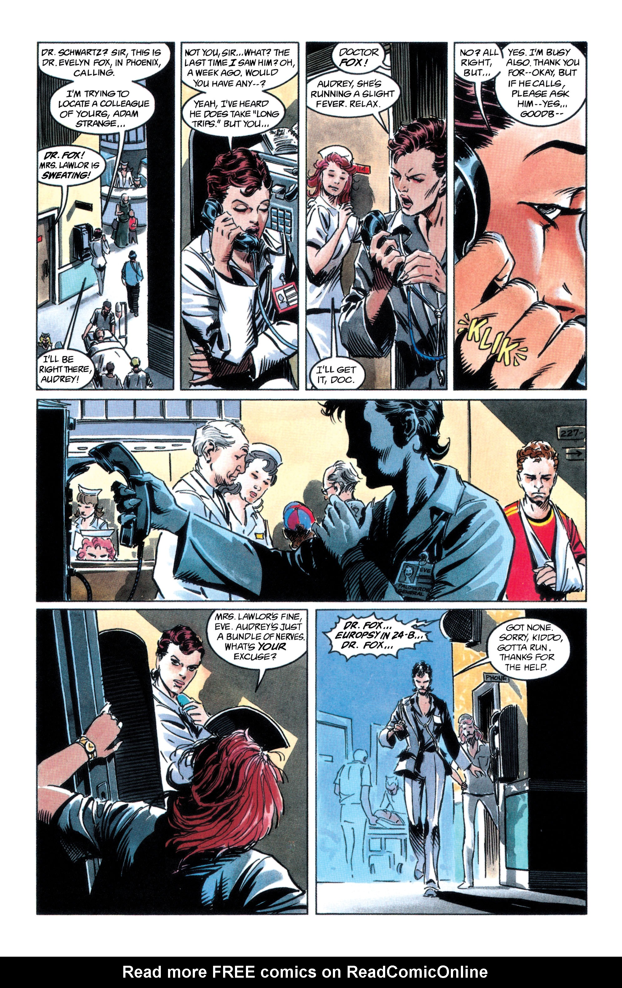 Read online Adam Strange (1990) comic -  Issue #2 - 15