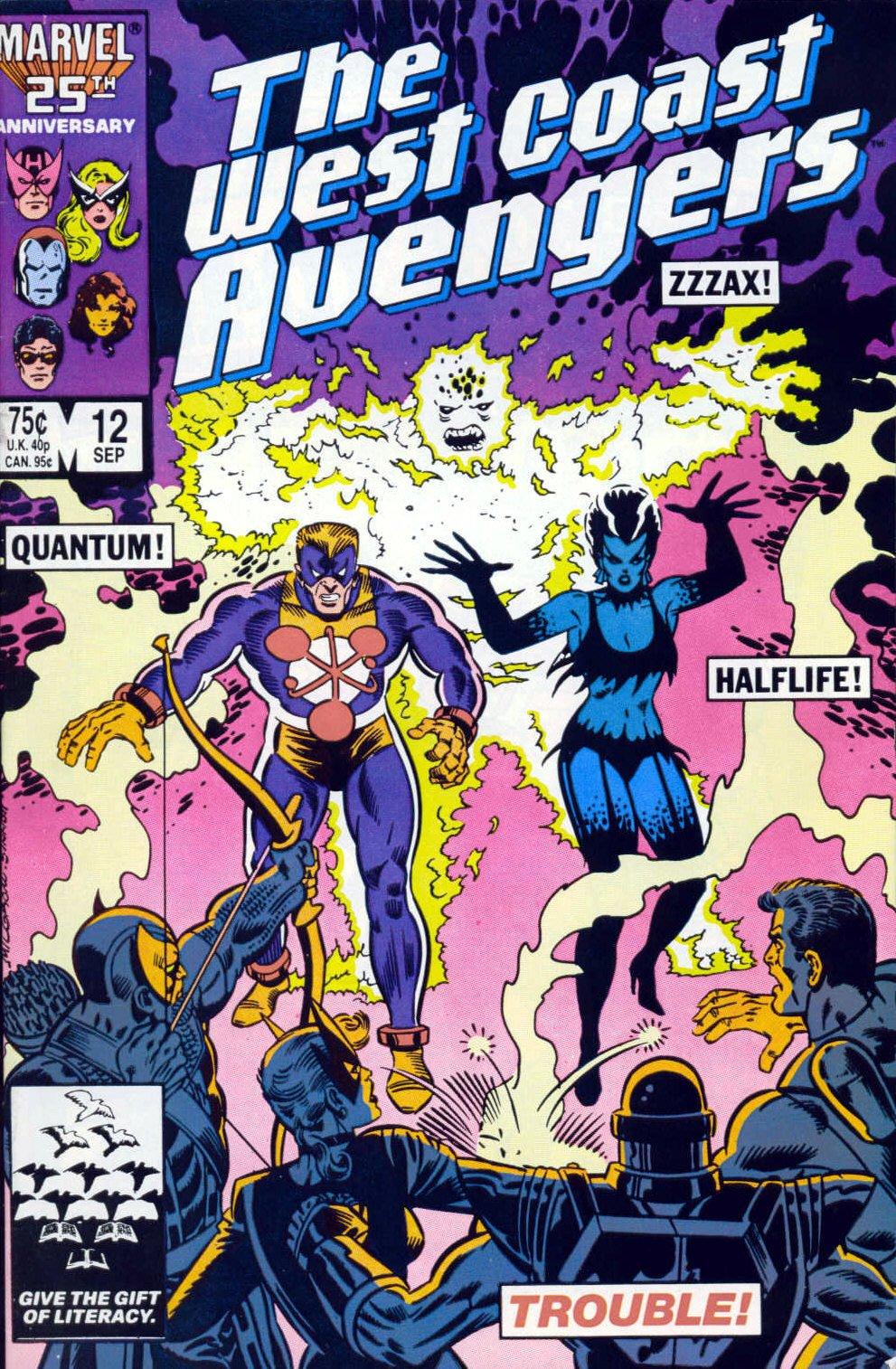 West Coast Avengers (1985) 12 Page 1