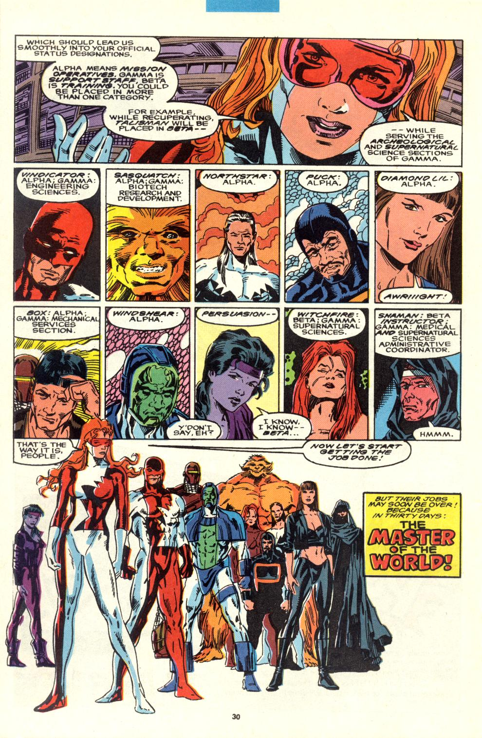 Read online Alpha Flight (1983) comic -  Issue #95 - 24