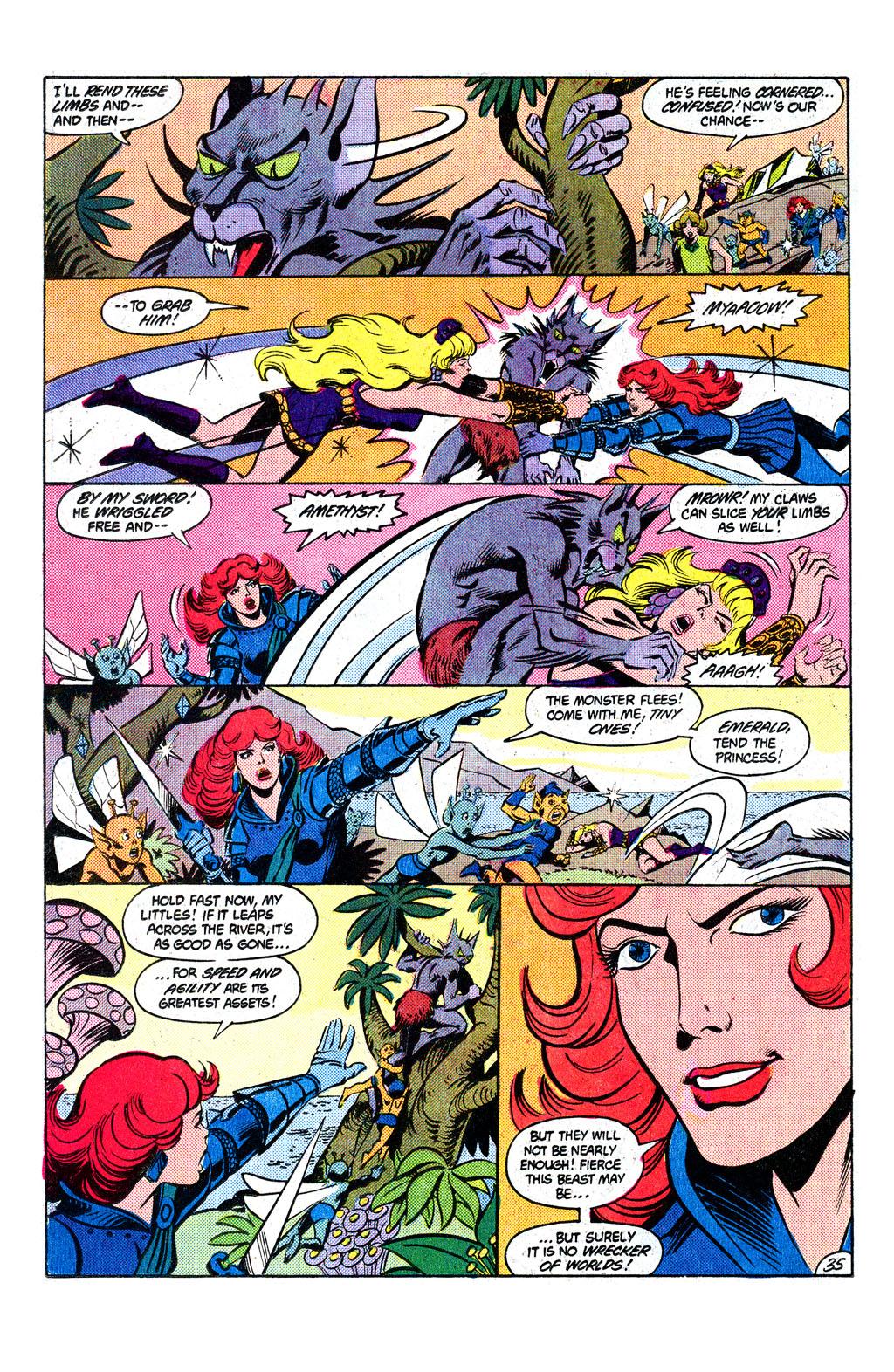 Read online Amethyst, Princess of Gemworld comic -  Issue # _Annual 1 - 36
