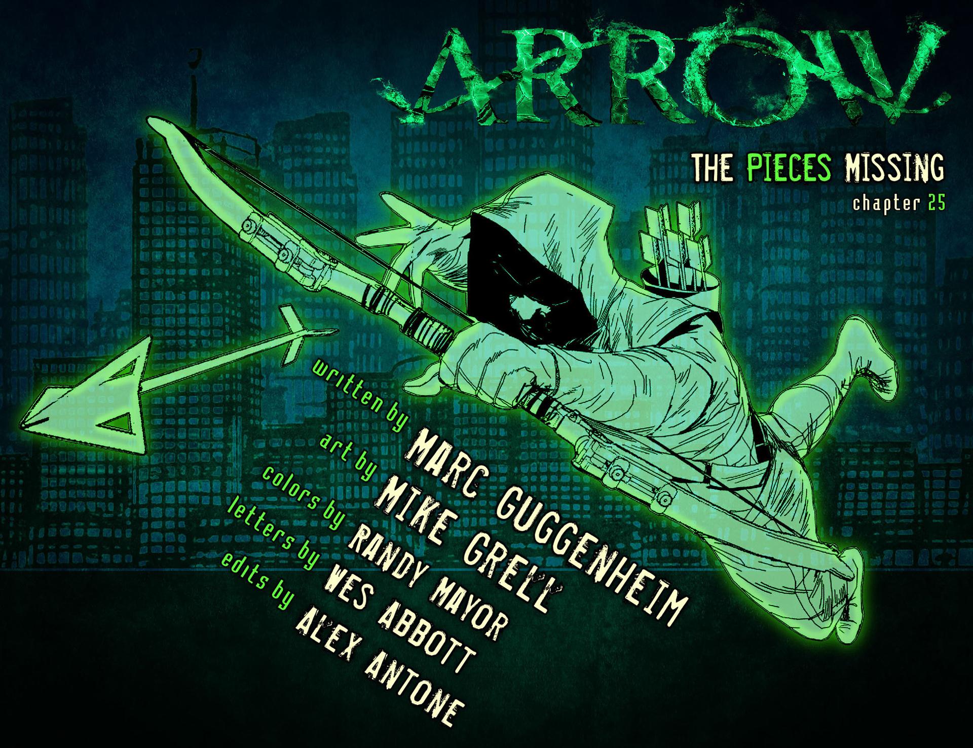 Read online Arrow [II] comic -  Issue #25 - 2