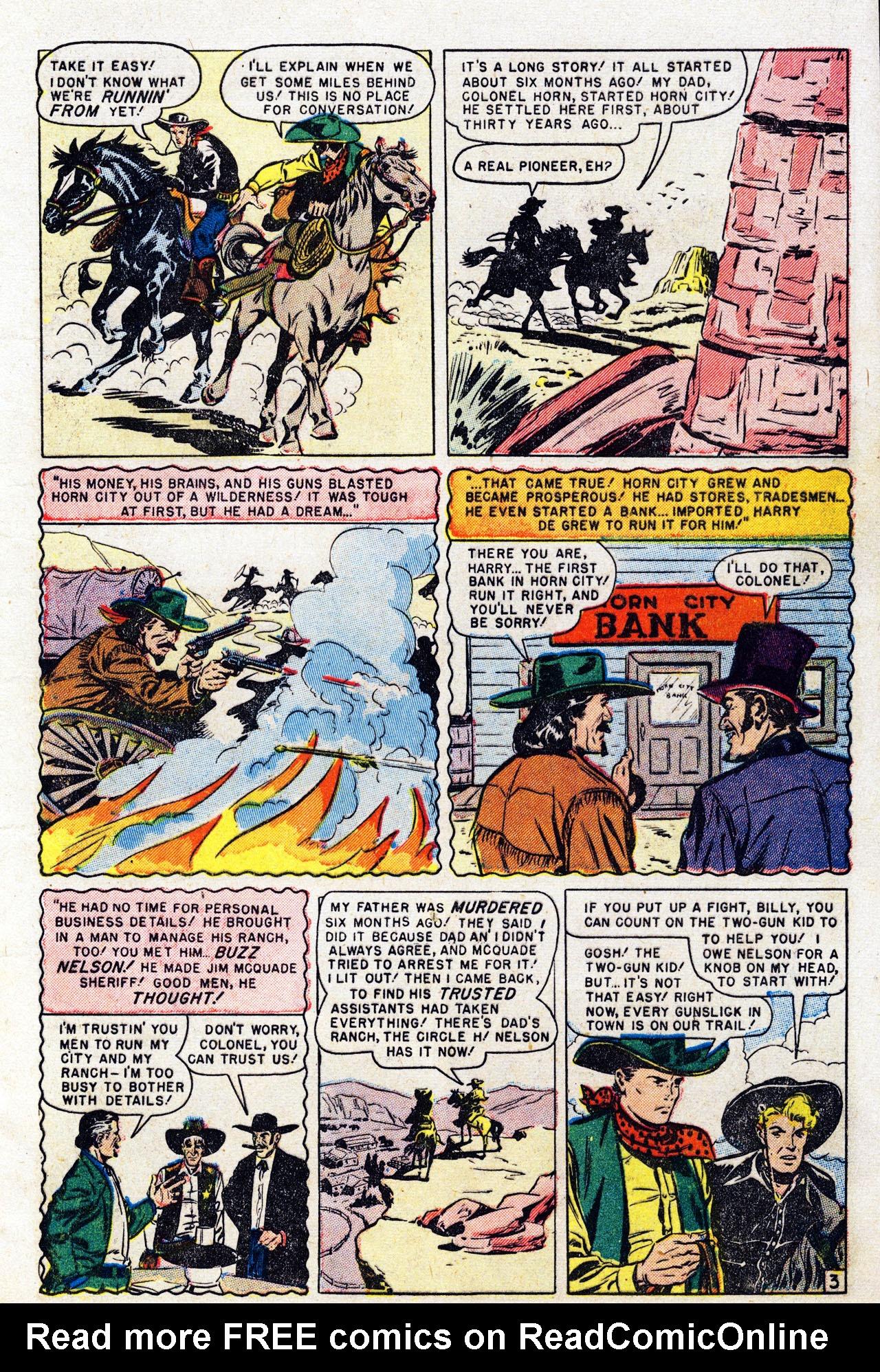 Read online Two-Gun Kid comic -  Issue #7 - 5