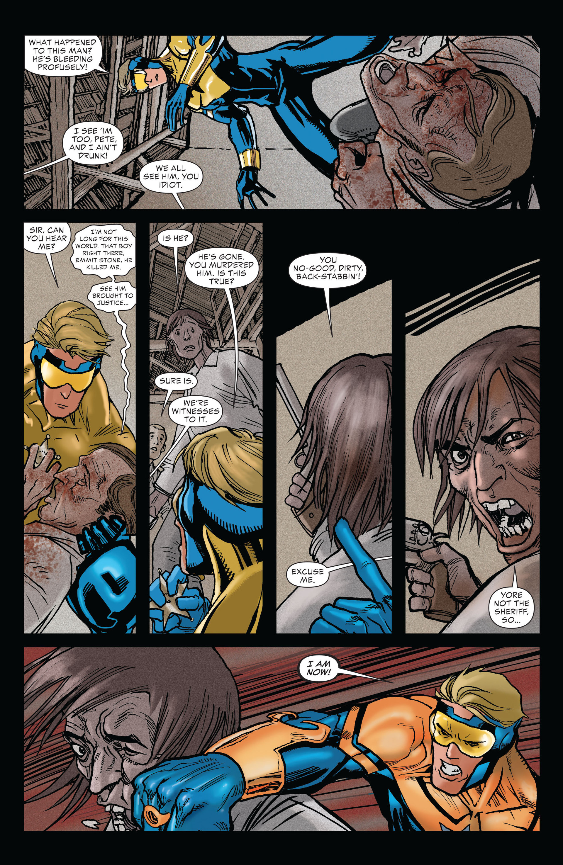 Read online All-Star Western (2011) comic -  Issue #19 - 20