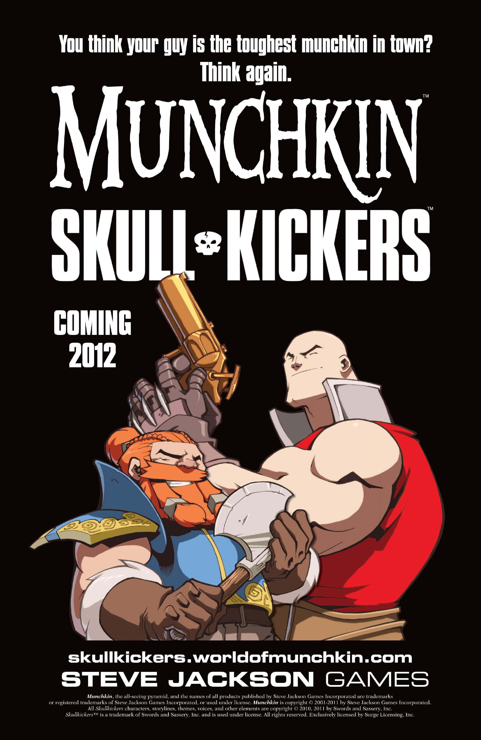 Read online Skullkickers comic -  Issue #13 - 30