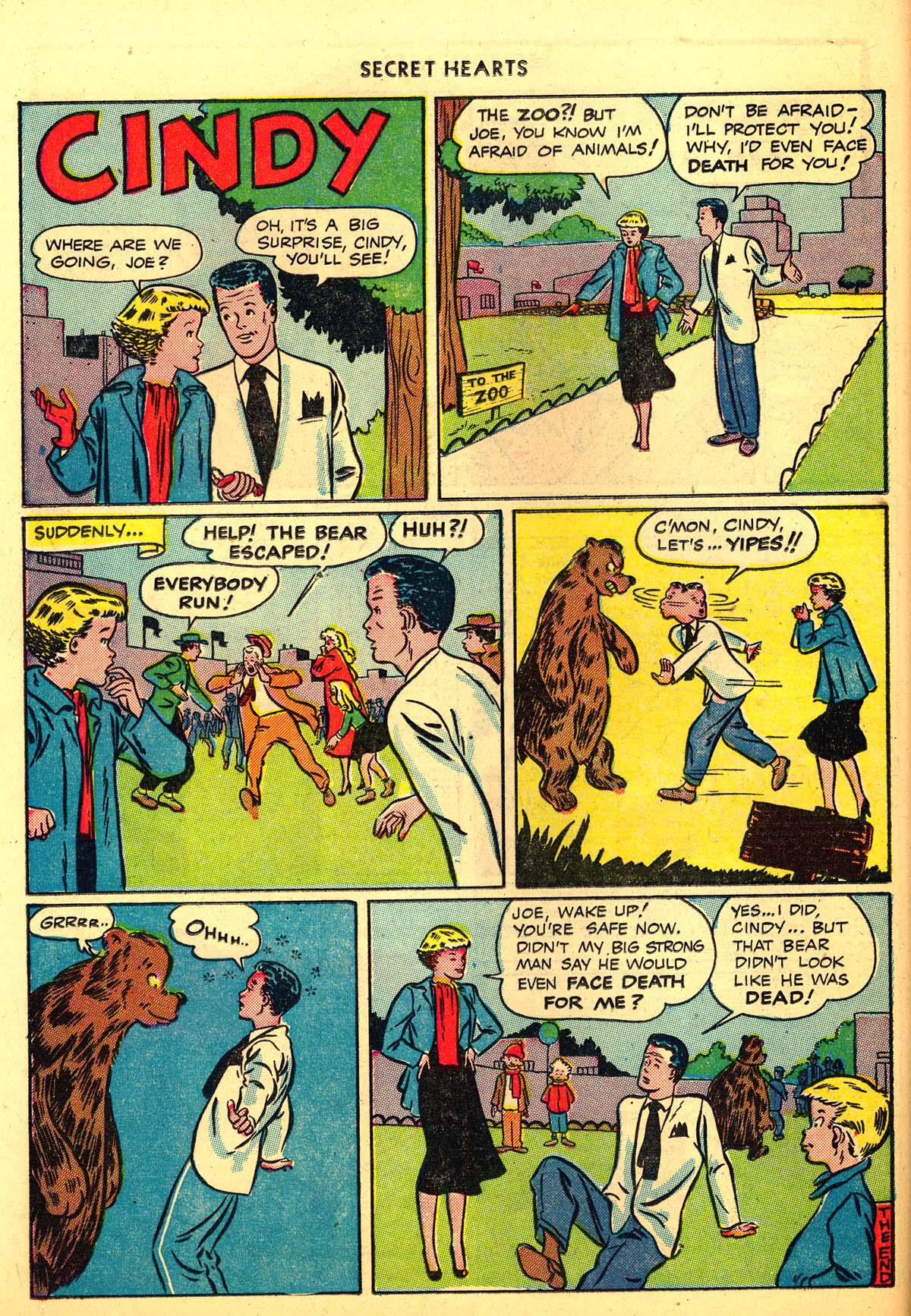 Read online Secret Hearts comic -  Issue #6 - 38