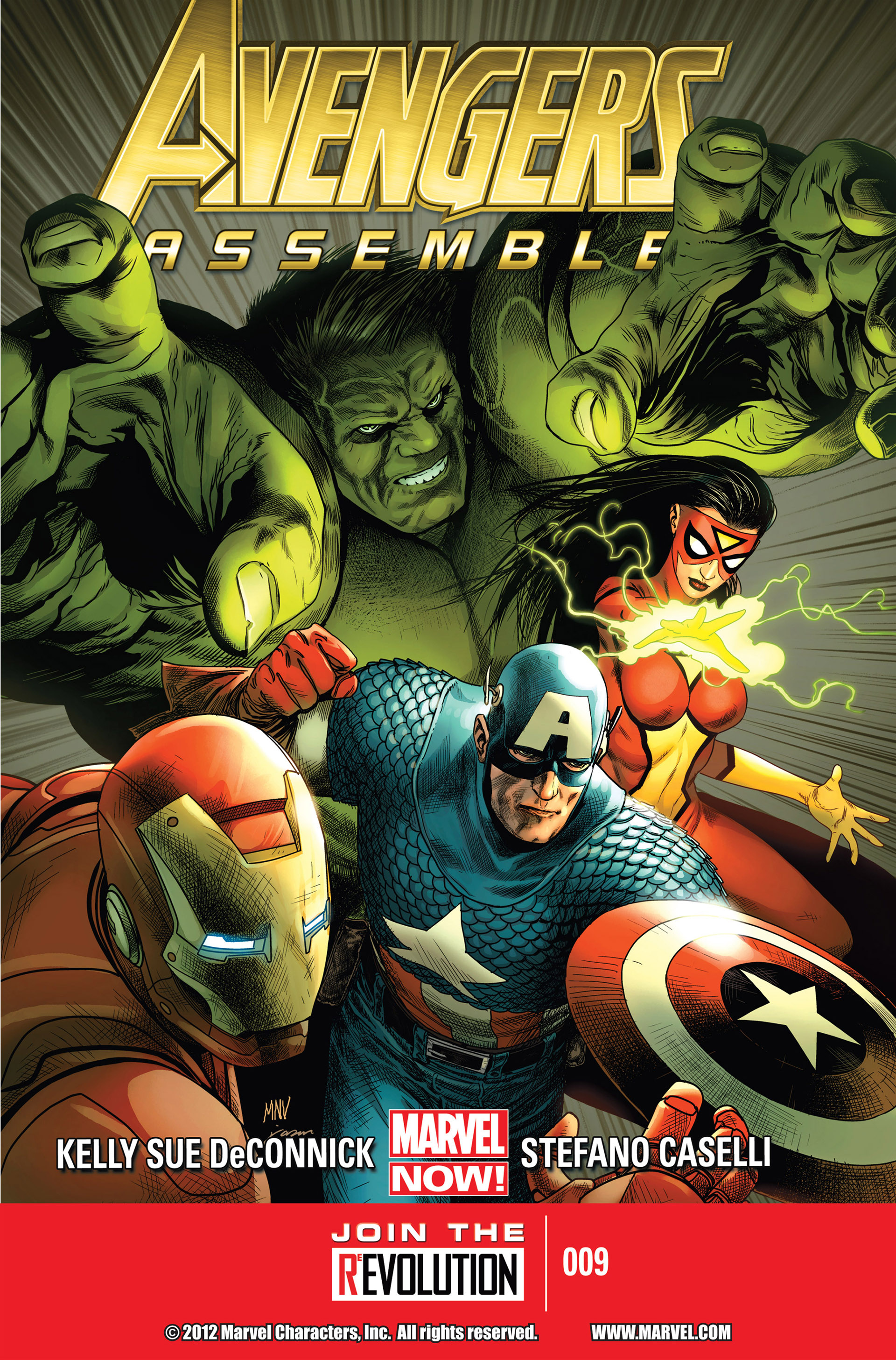 Avengers Assemble (2012) issue 9 - Page 1