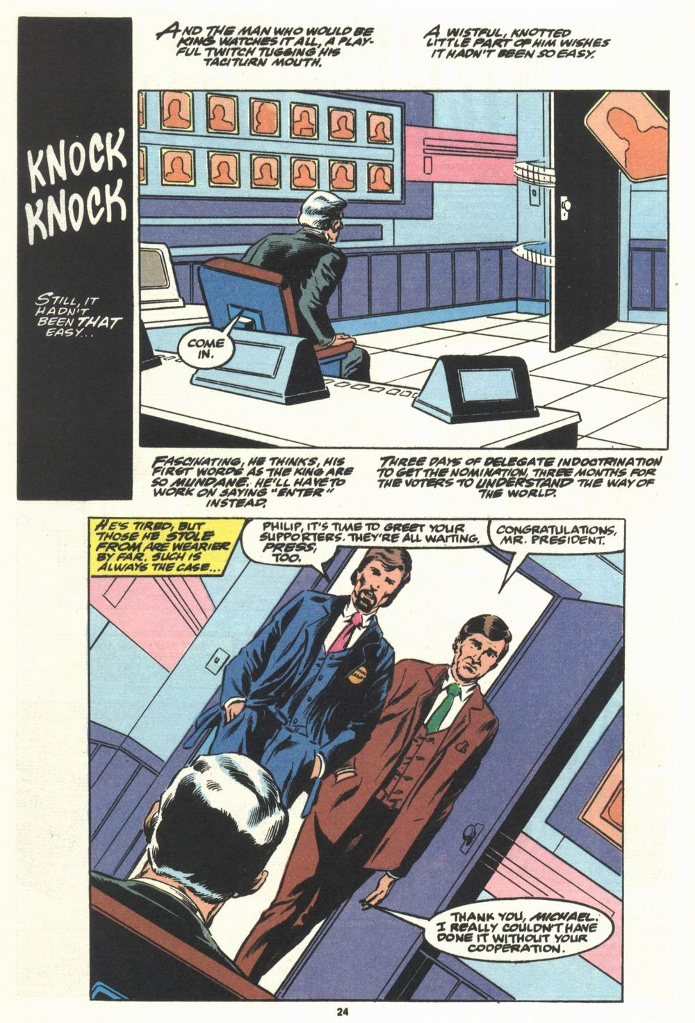 Read online Justice (1986) comic -  Issue #29 - 25