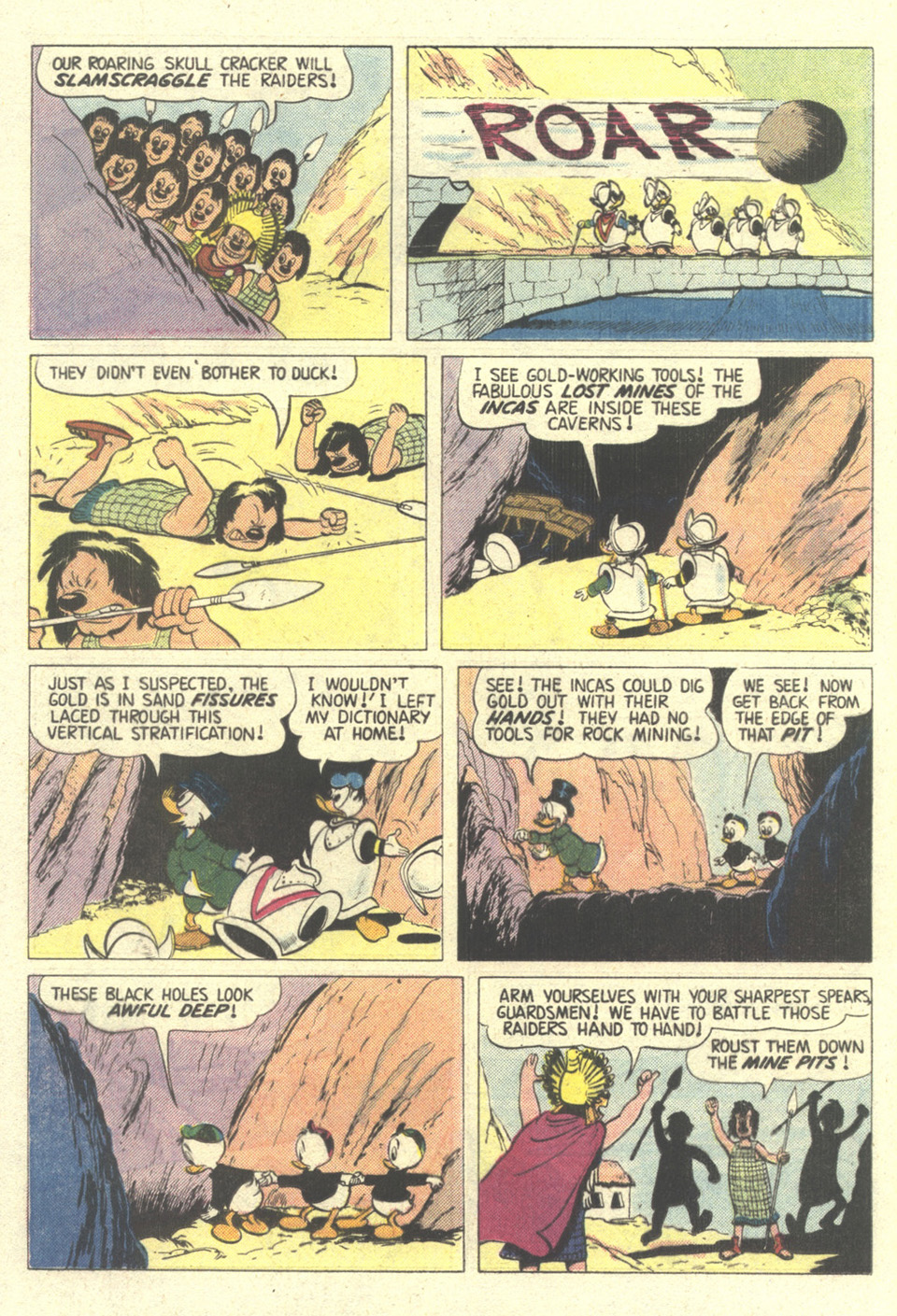 Read online Uncle Scrooge (1953) comic -  Issue #211 - 16