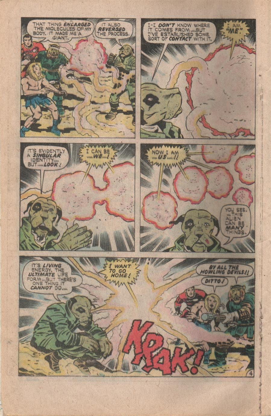 Kamandi, The Last Boy On Earth issue 32 - Page 6