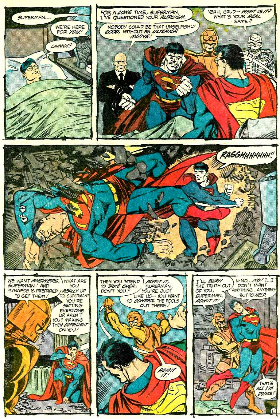 Read online Adventures of Superman (1987) comic -  Issue #427 - 12
