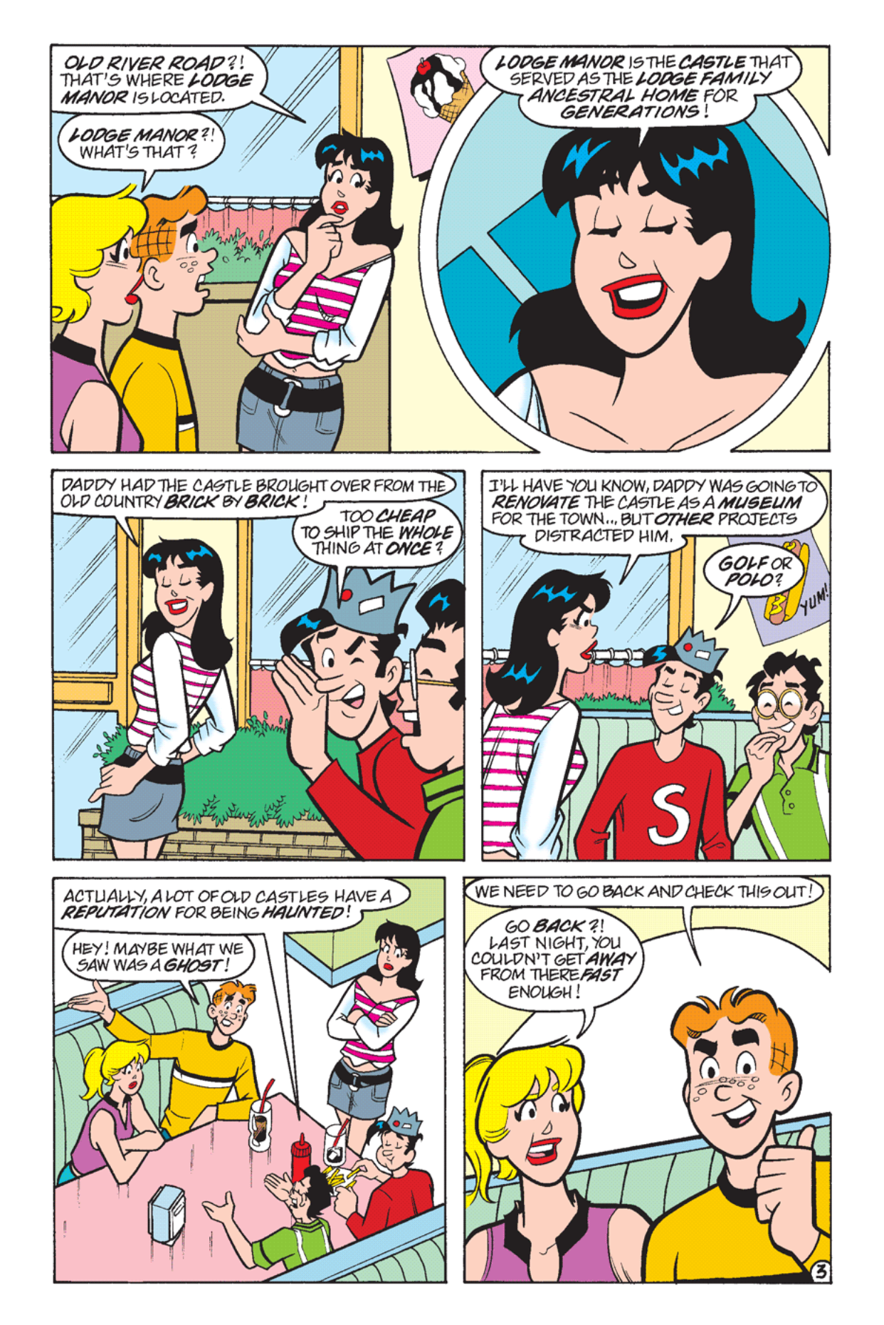 Read online Archie's Weird Mysteries comic -  Issue #24 - 4