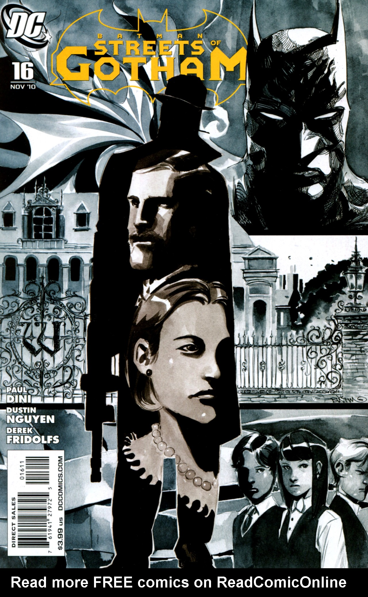 Batman: Streets Of Gotham 16 Page 1
