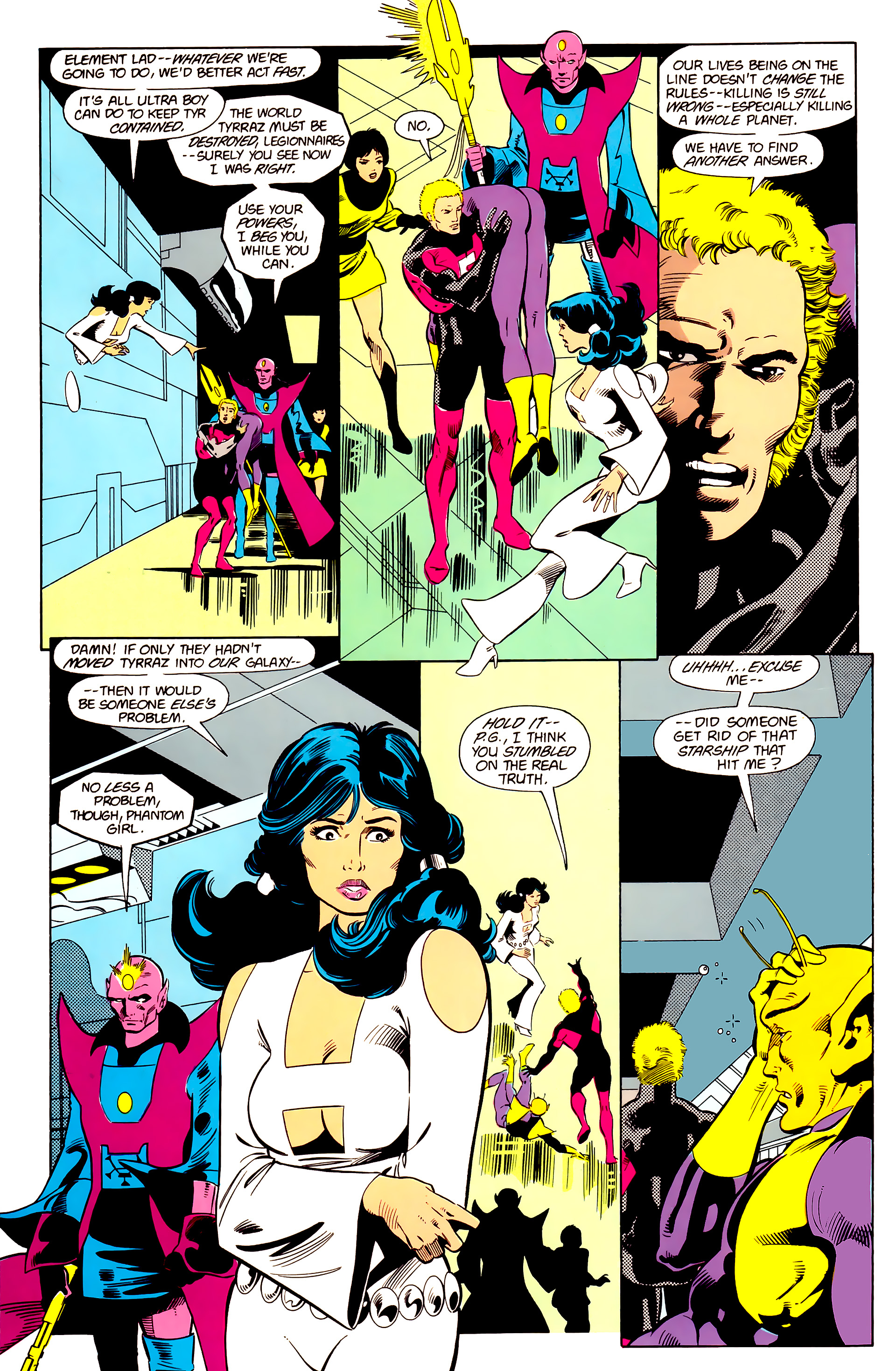 Legion of Super-Heroes (1984) 20 Page 11